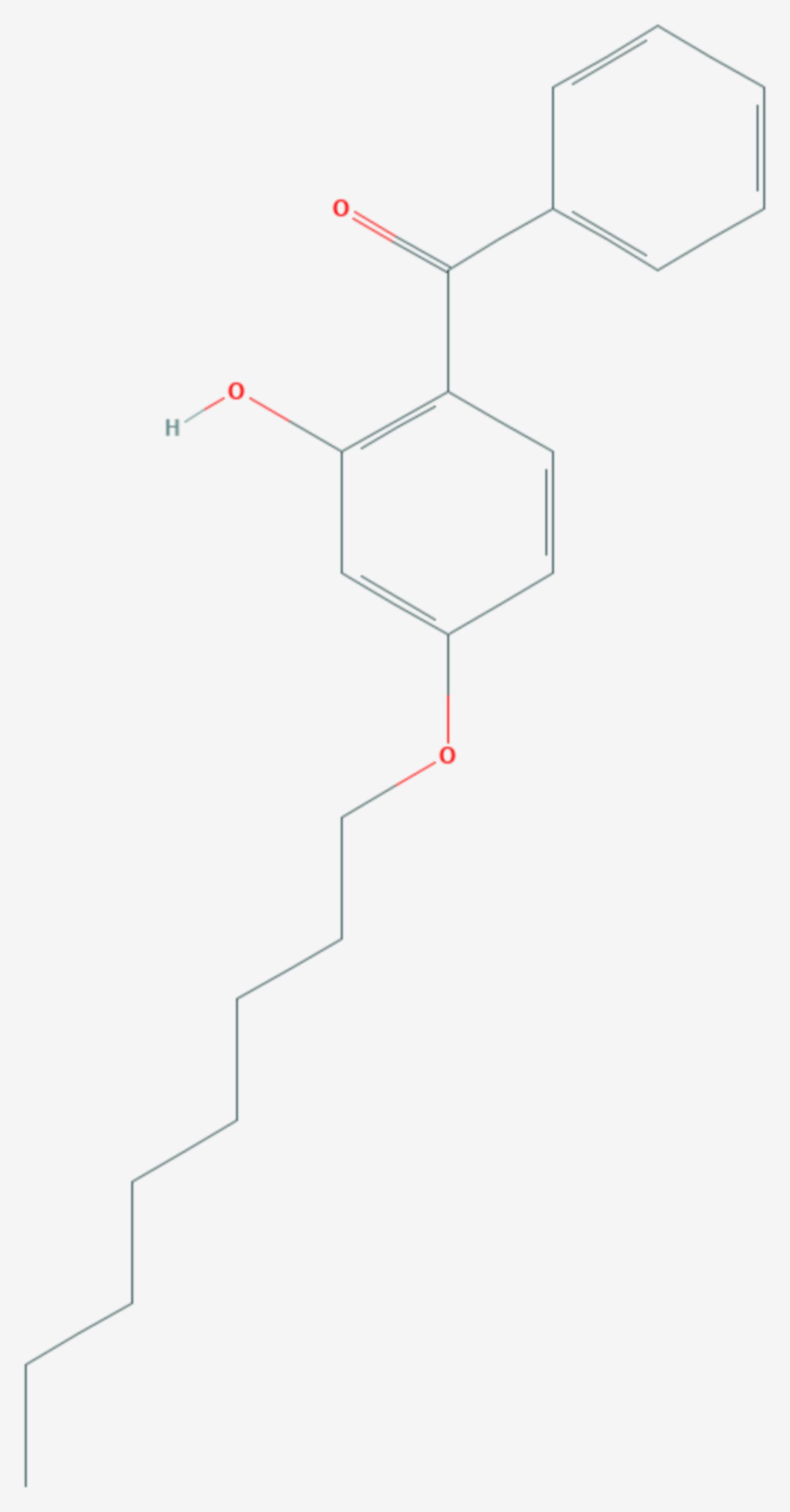 Octabenzon (Strukturformel)