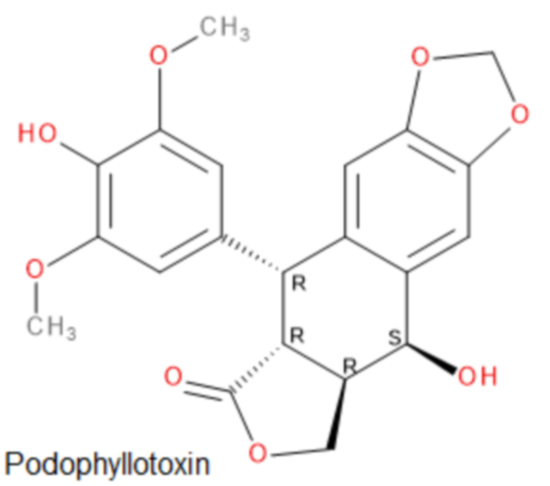 Podophyllotoxin