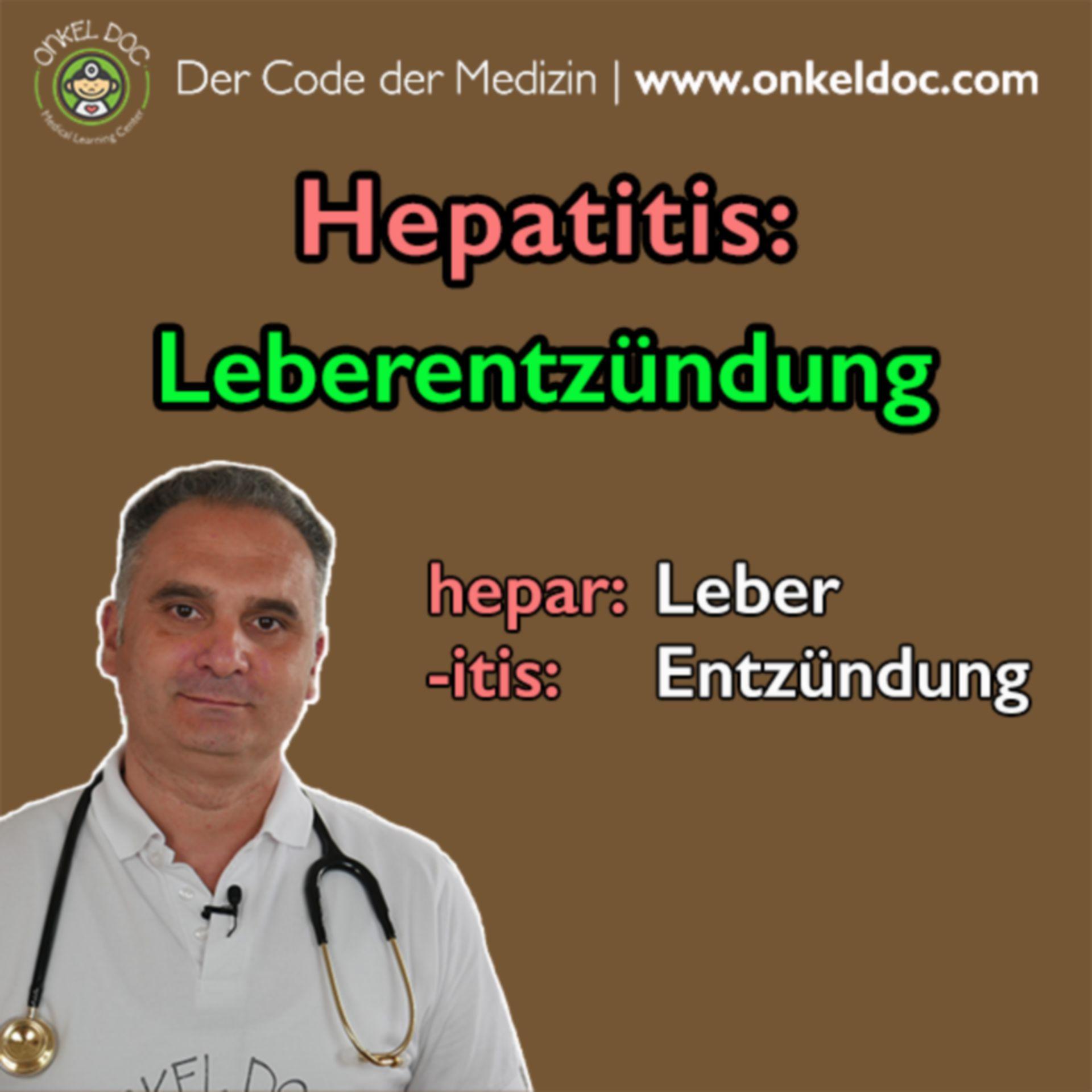 Der Code der Hepatitis