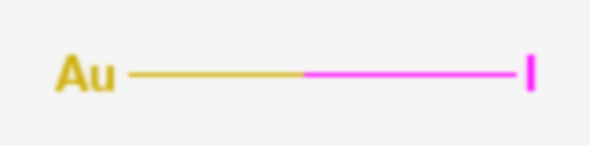 Monoioduro di oro (Formula di struttura)