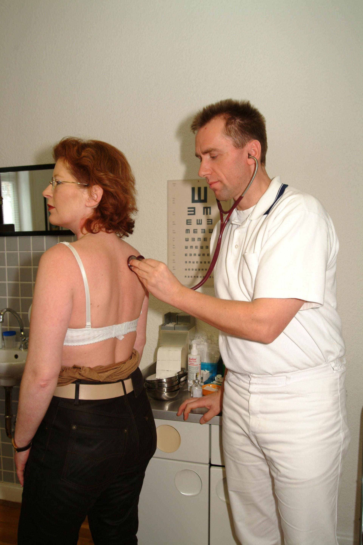 Auskultation Rücken