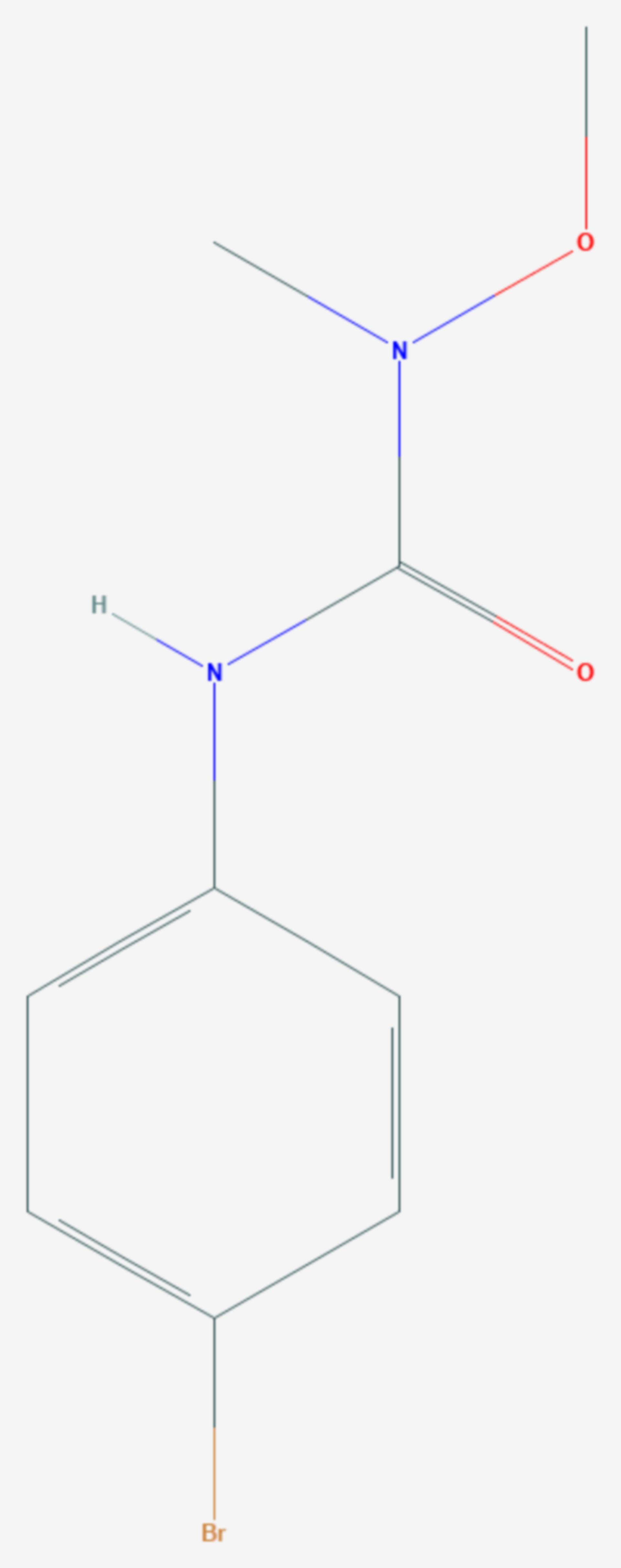 Metobromuron (Strukturformel)