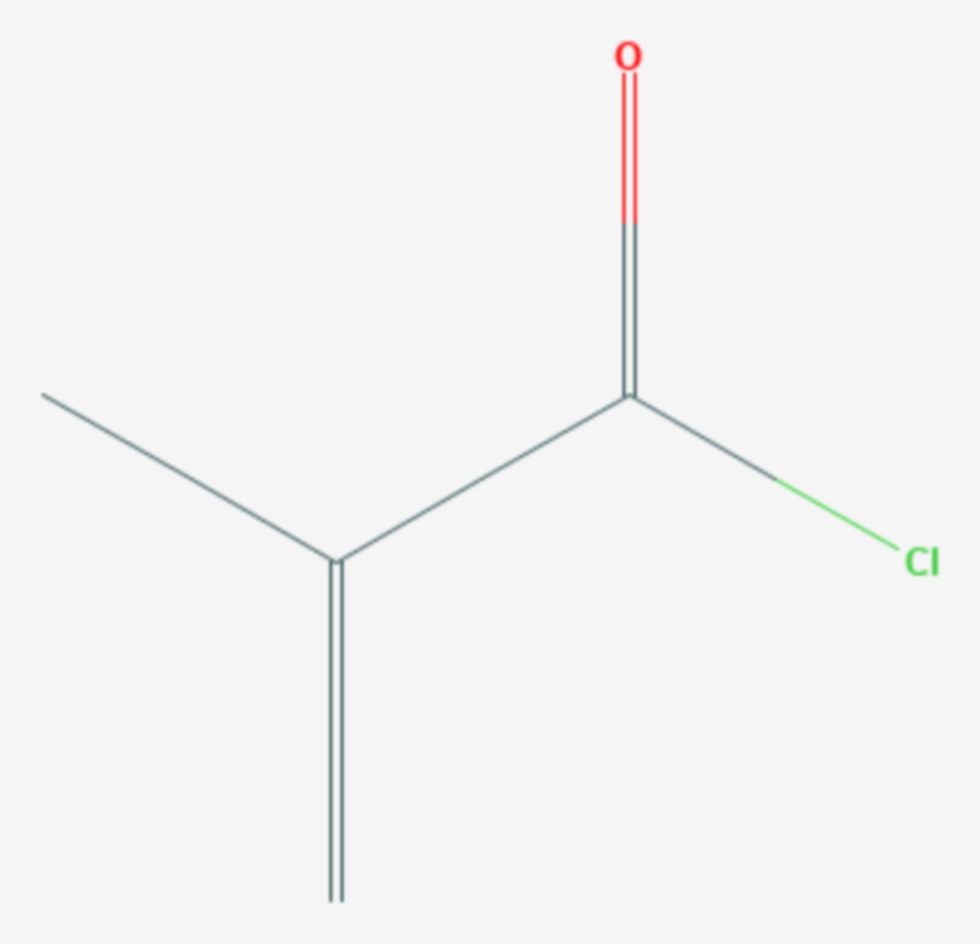 Methacryloylchlorid (Strukturformel)