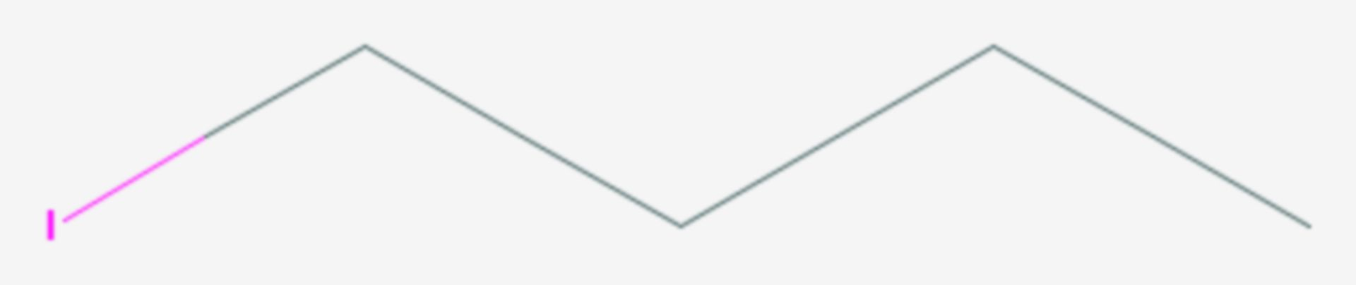 1-Iodbutan (Strukturformel)