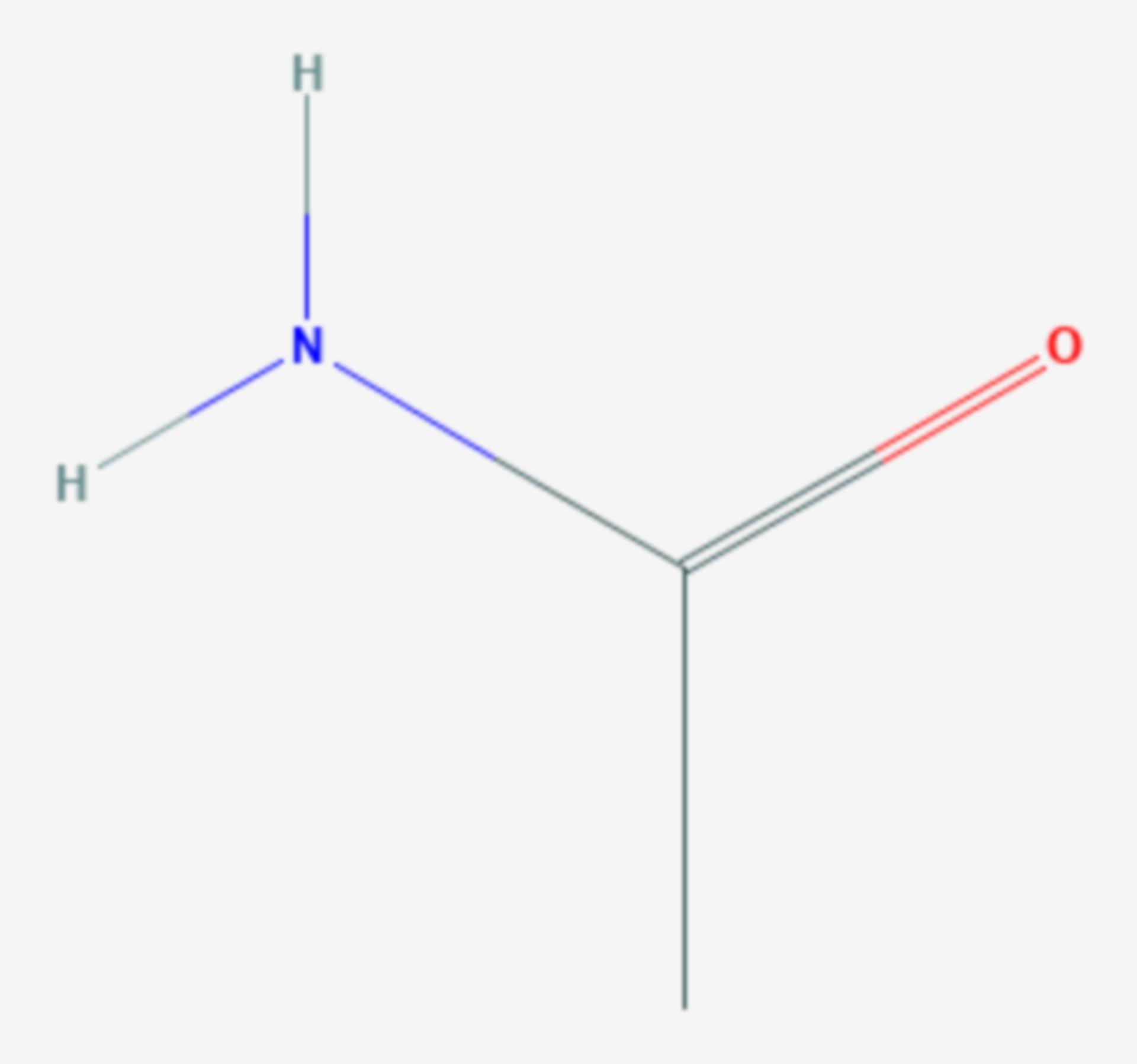 Acetamid (Strukturformel)