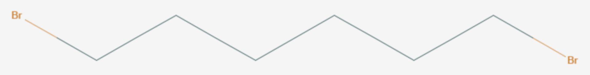 1,6-Dibromhexan (Strukturformel)