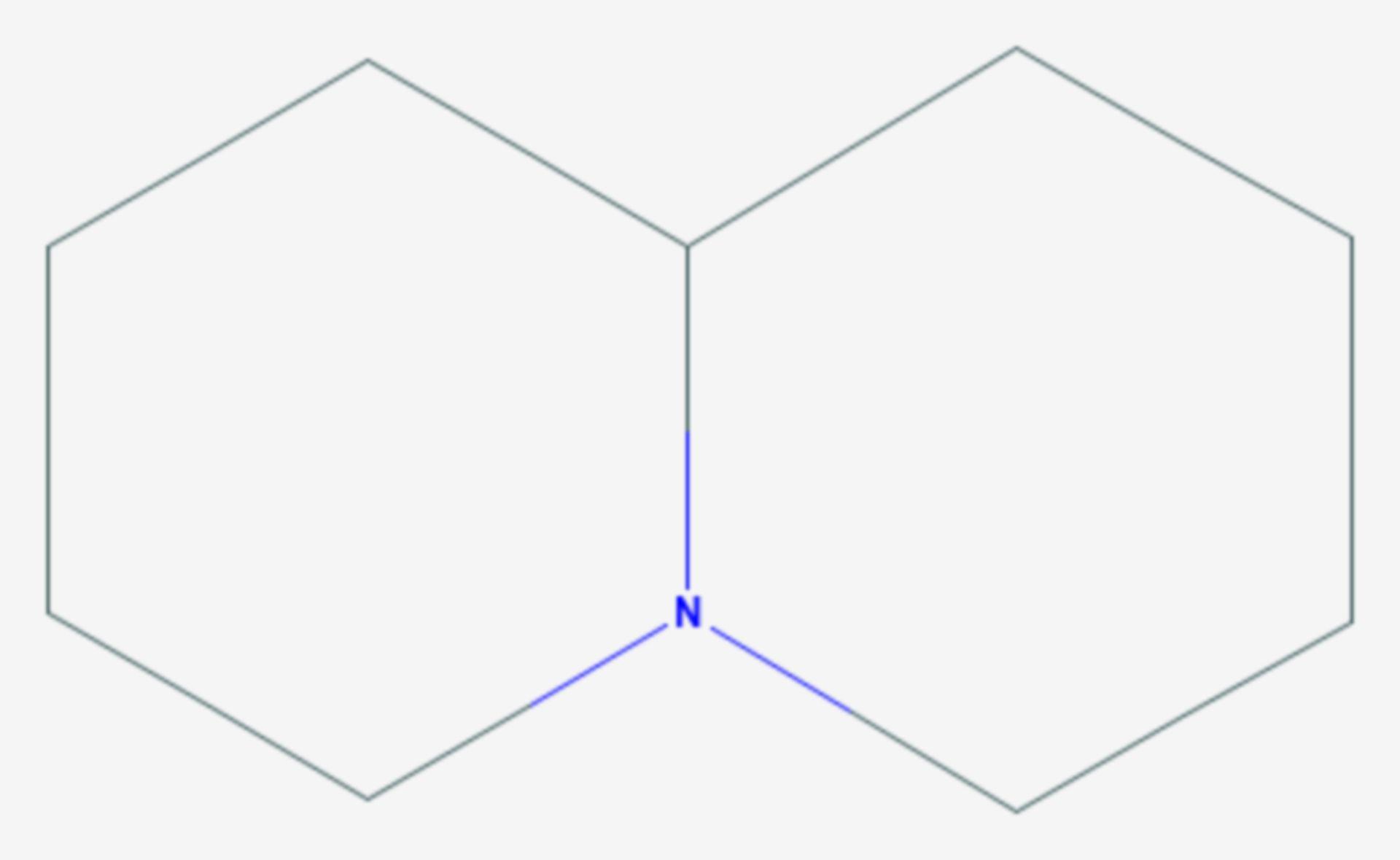 Chinolizidin (Strukturformel)