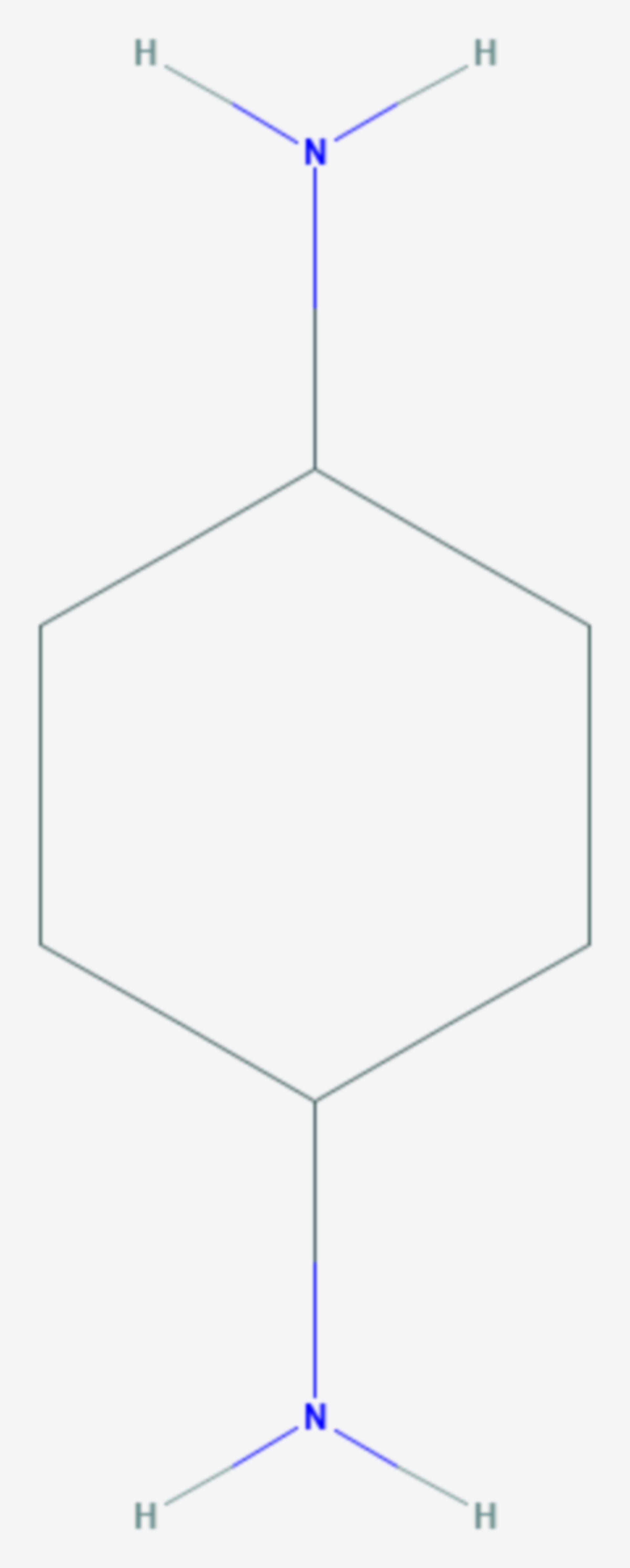 Cyclohexan-1,4-diamin (Strukturformel)