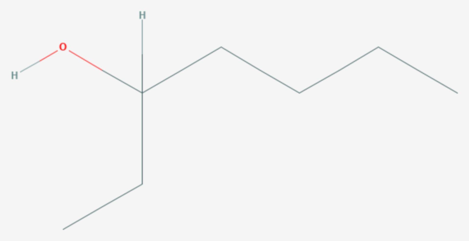 3-Heptanol (Strukturformel)