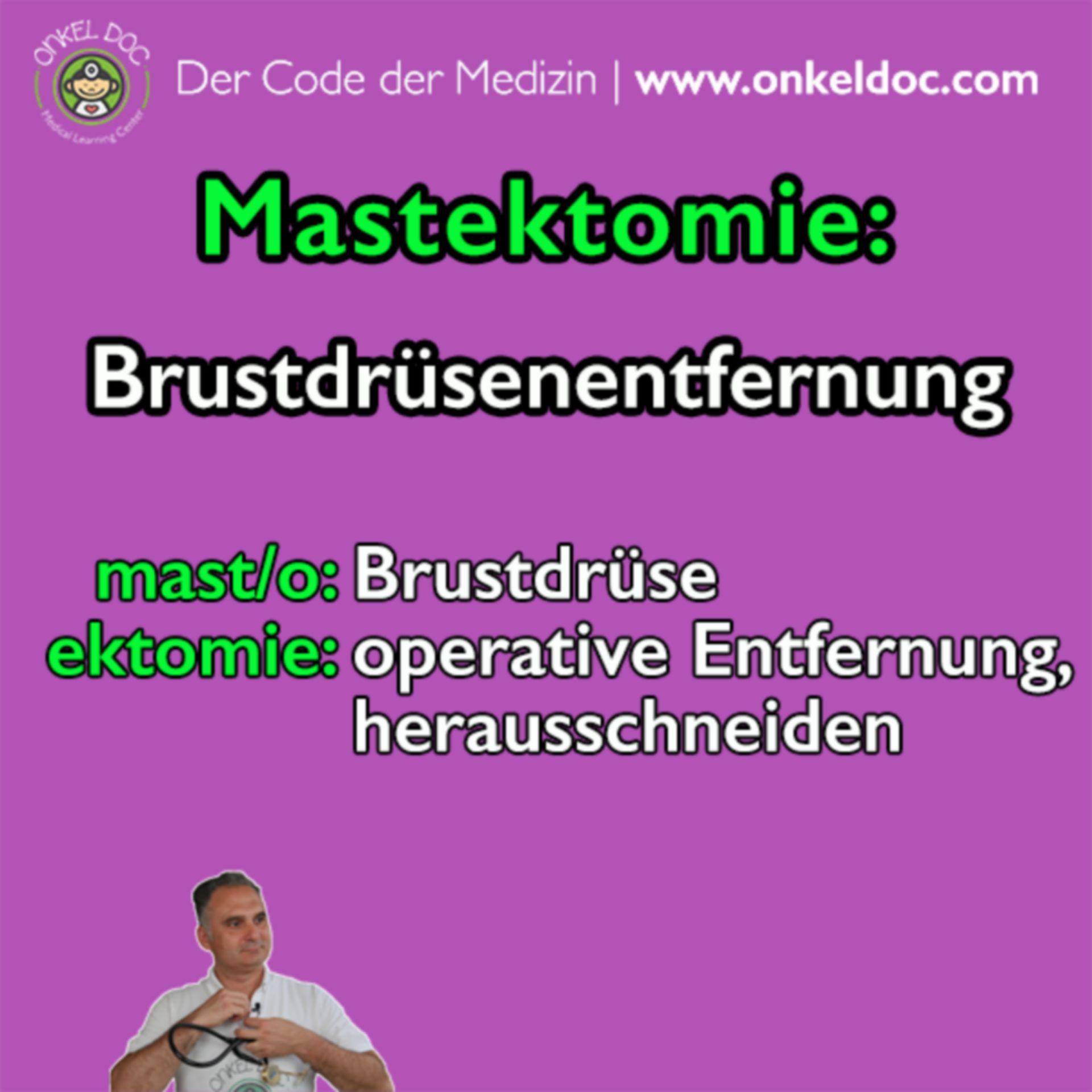 Der Code der Mastektomie
