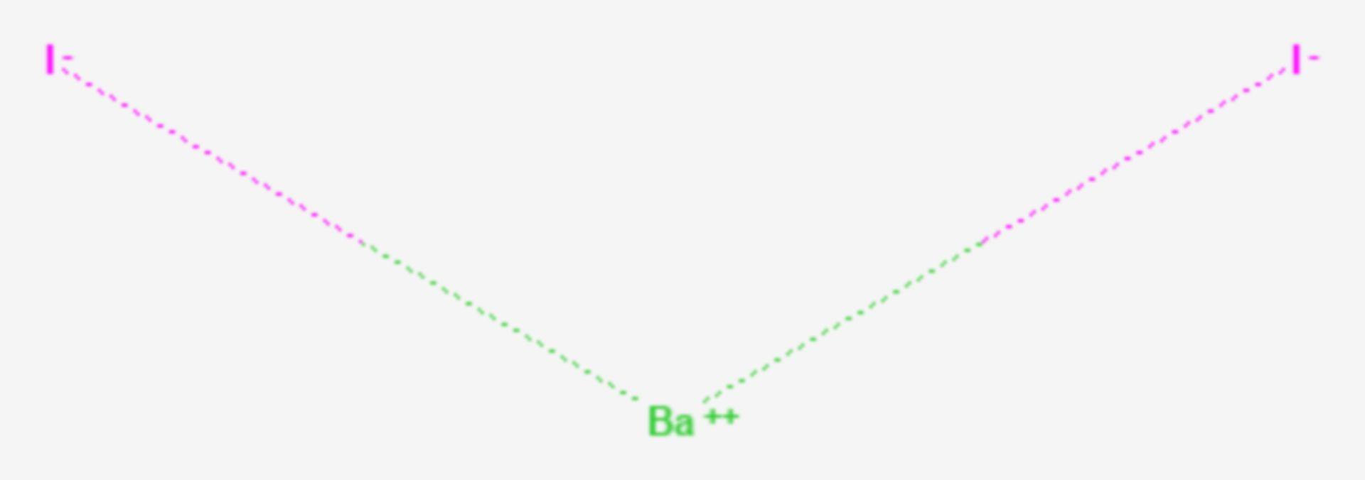 Bariumiodid (Strukturformel)