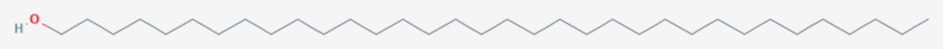1-Tetratriacontanol (Strukturformel)