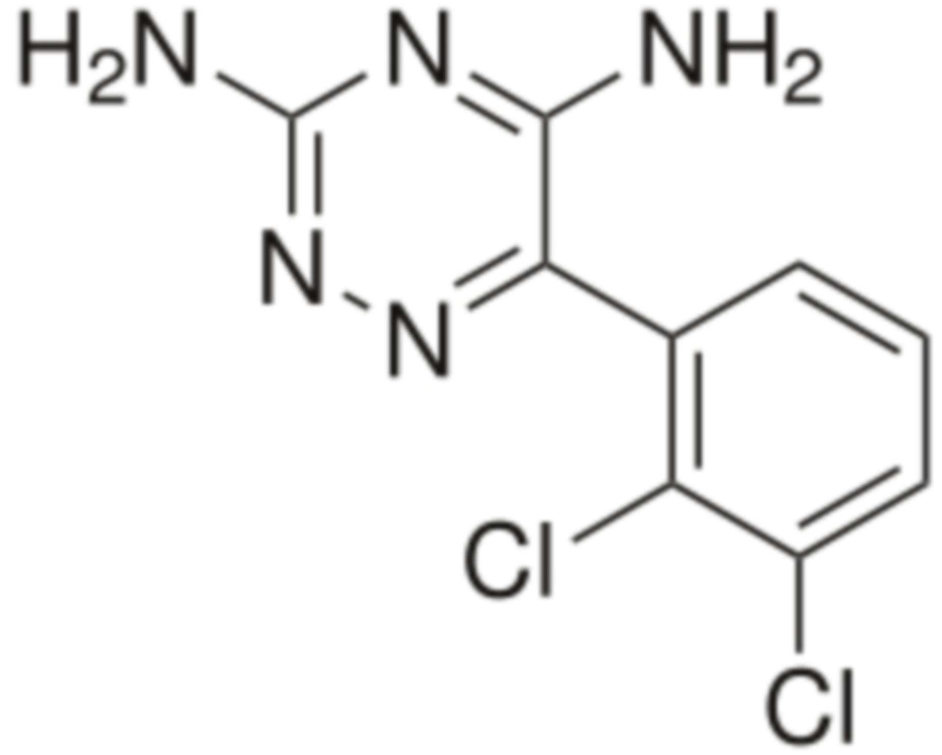 Lamotrigin Strukturformel