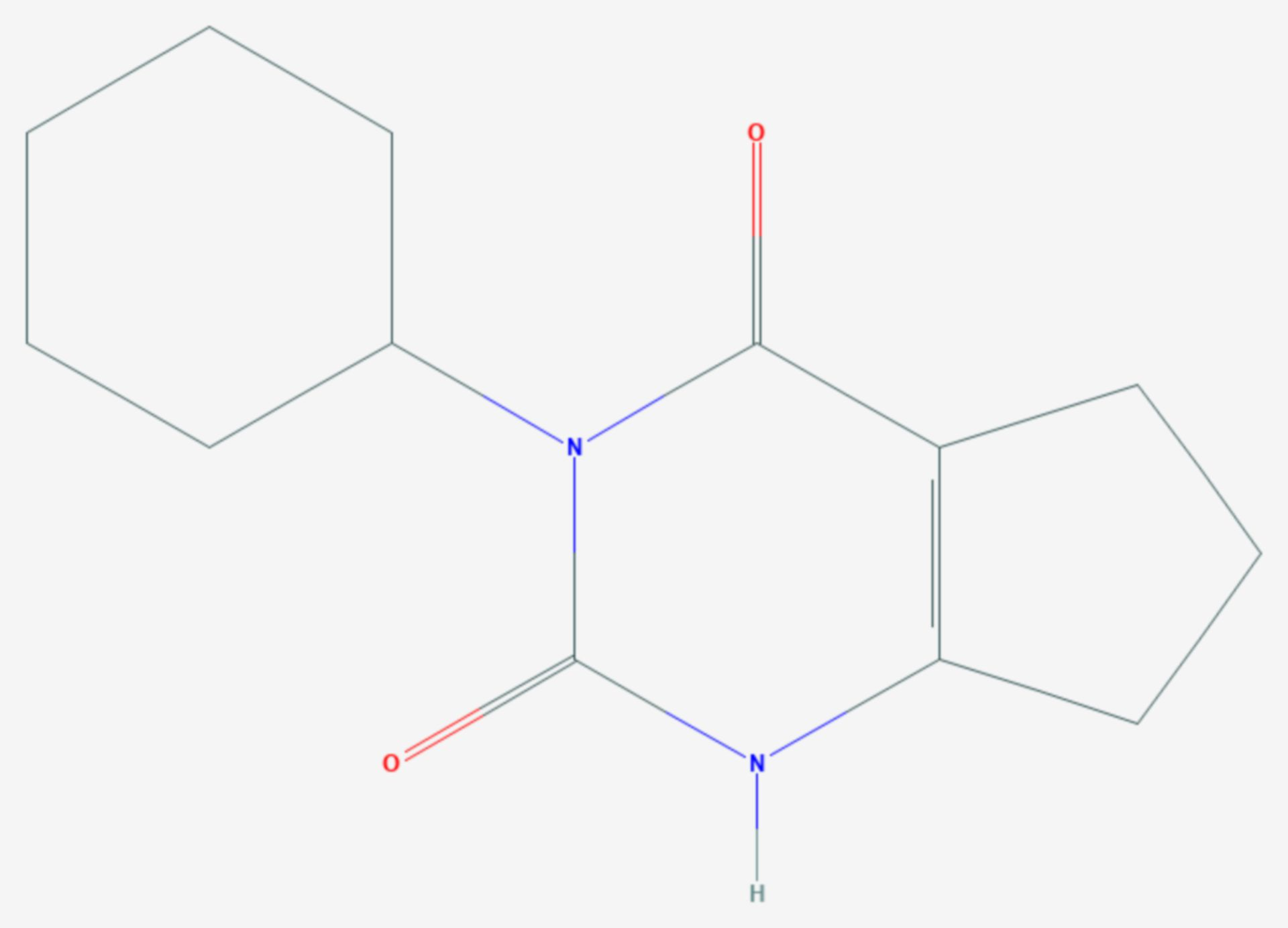 Lenacil (Strukturformel)