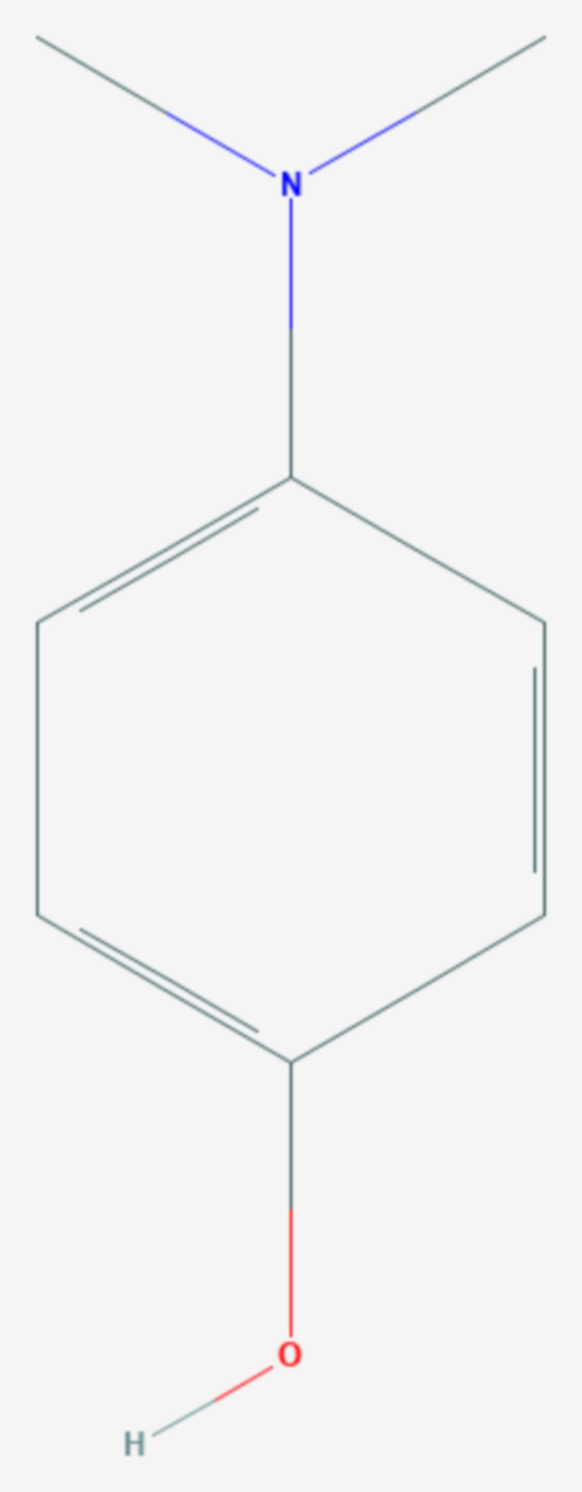 4-Dimethylaminophenol (Strukturformel)