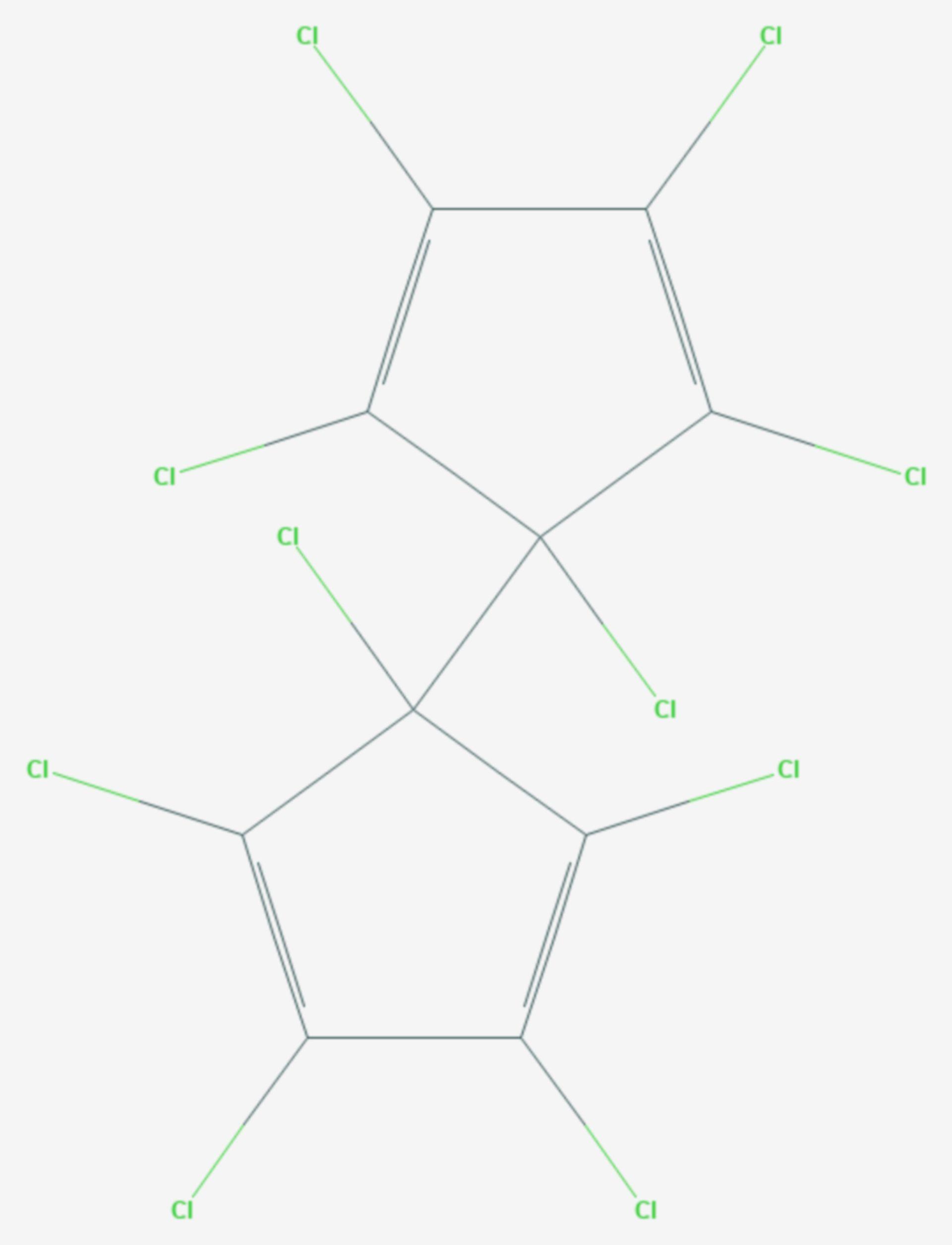 Dienochlor (Strukturformel)