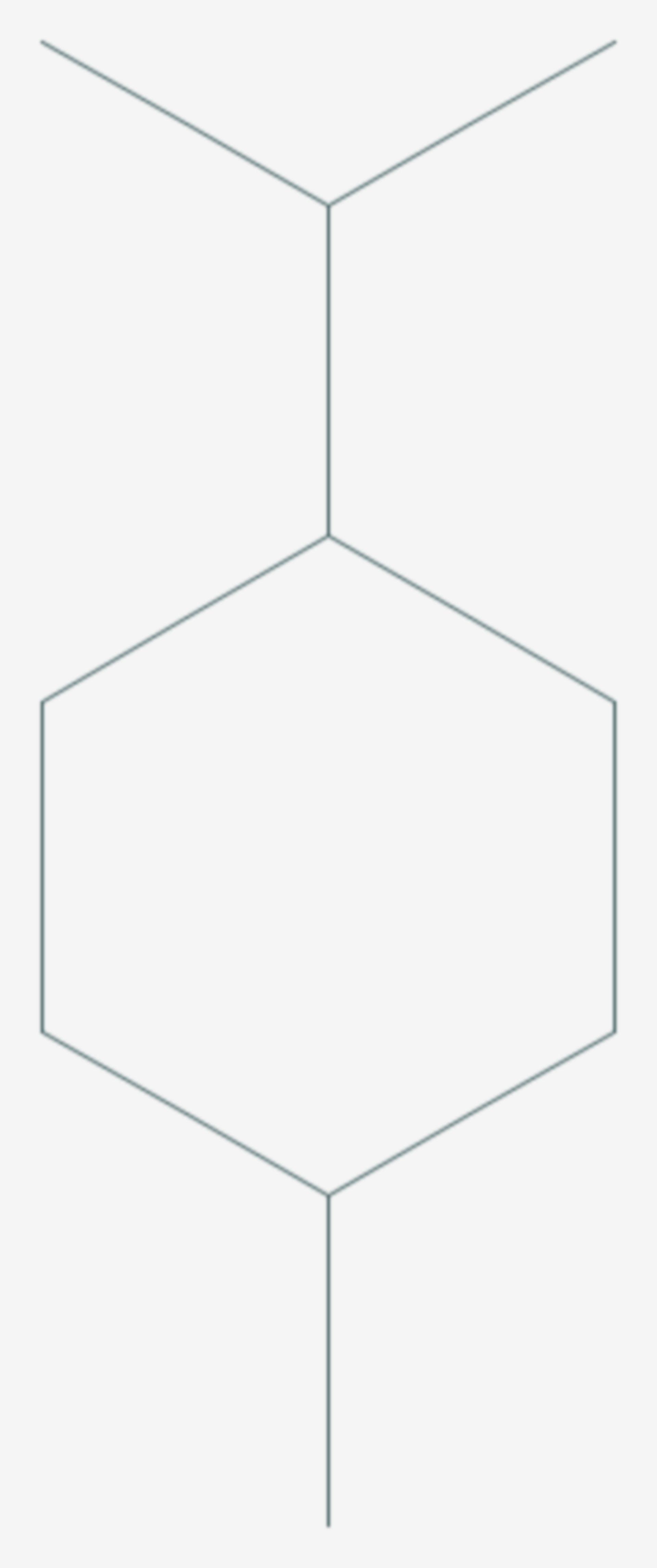 P-Menthan (Strukturformel)