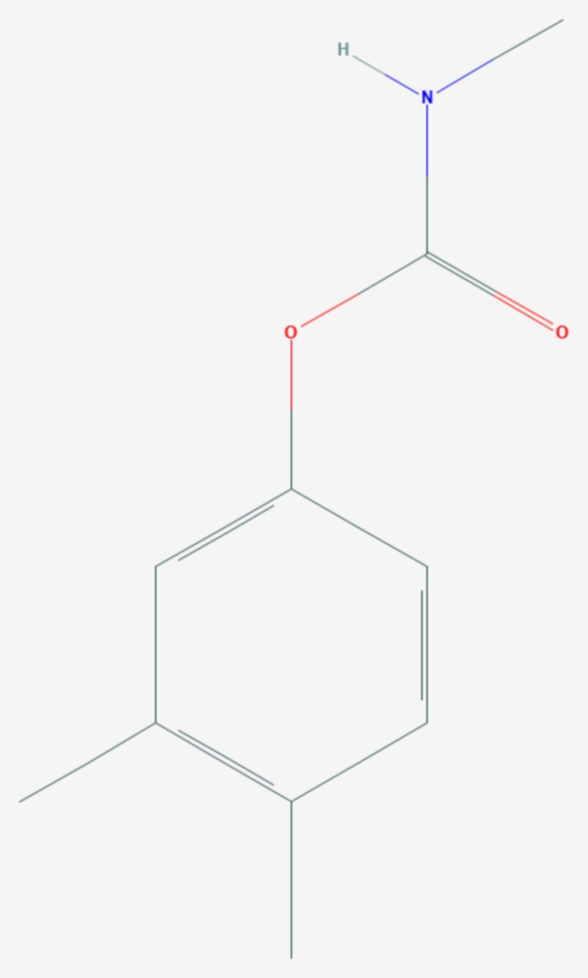 Xylylcarb (Strukturformel)