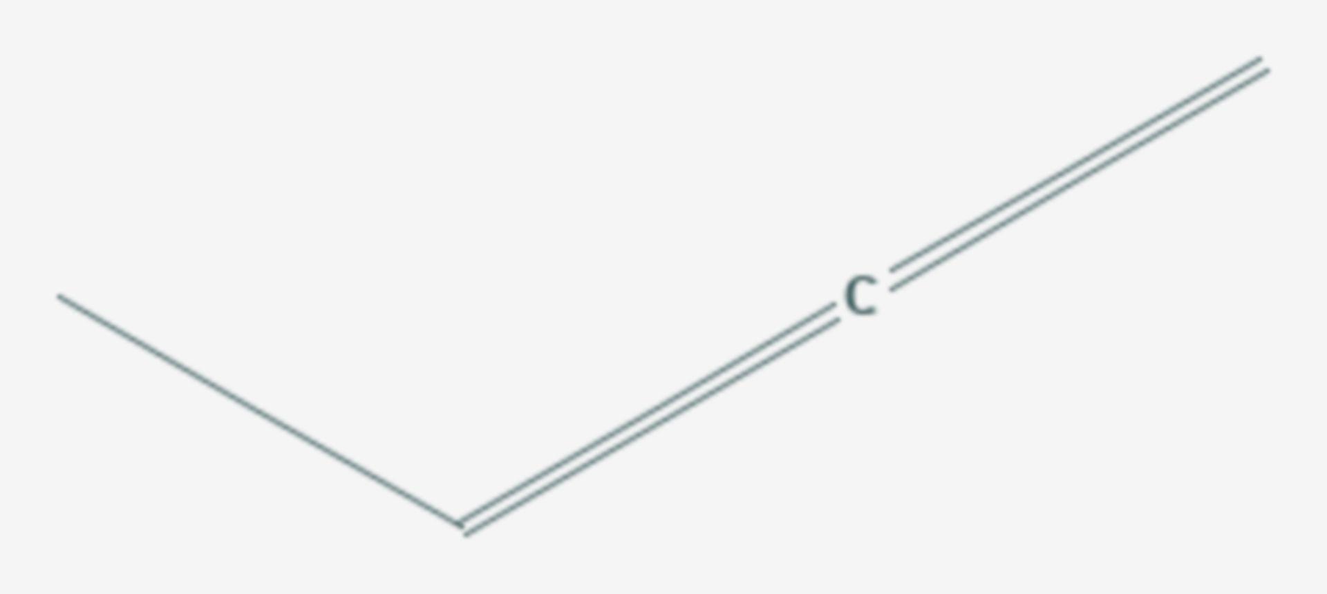1,2-Butadien (Strukturformel)