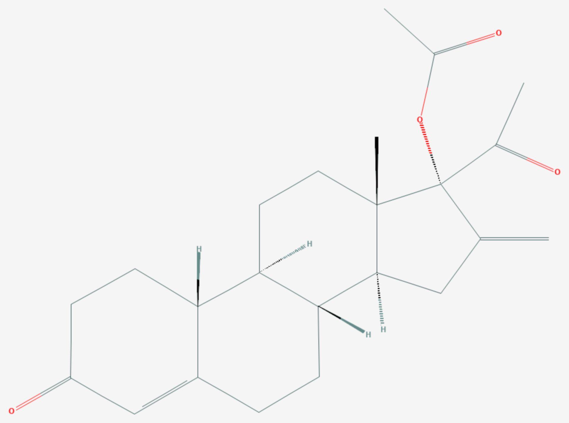 Nestoron (Strukturformel)