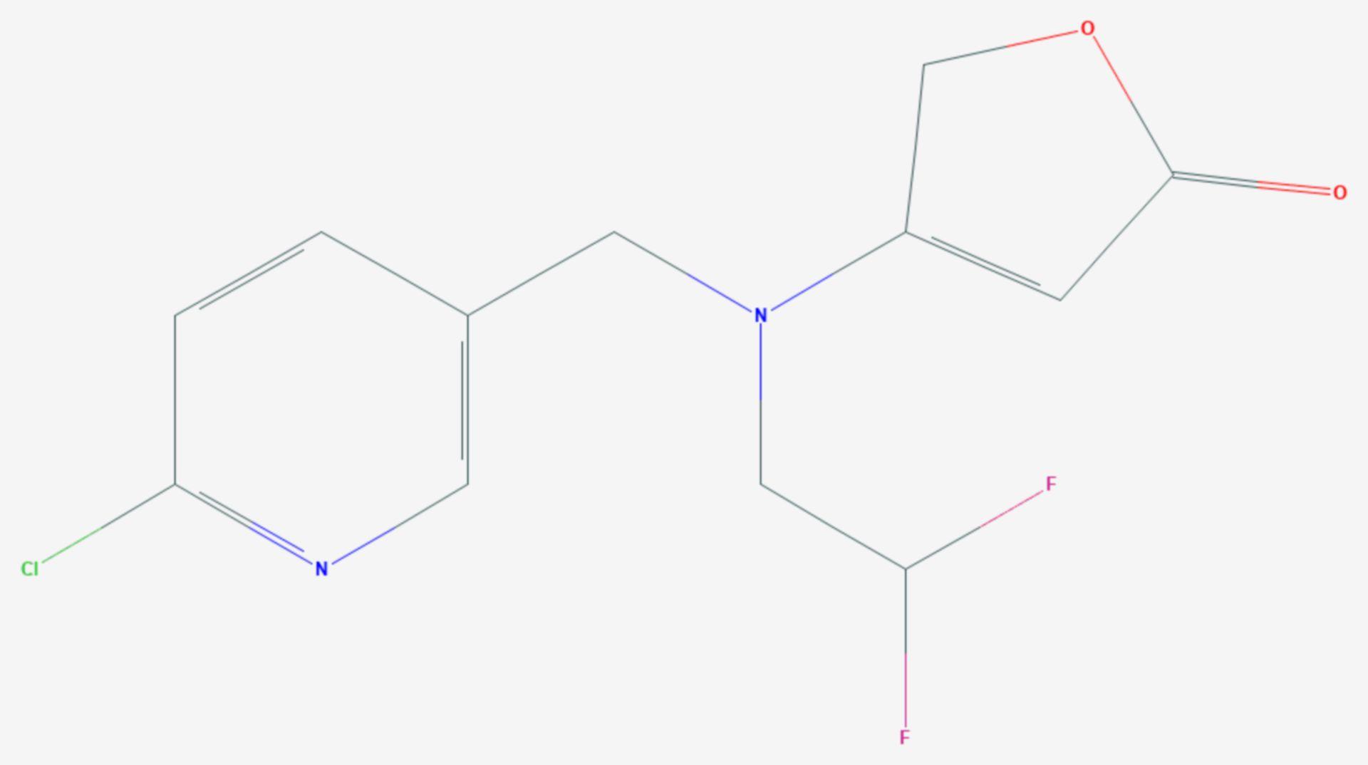 Flupyradifuron (Strukturformel)