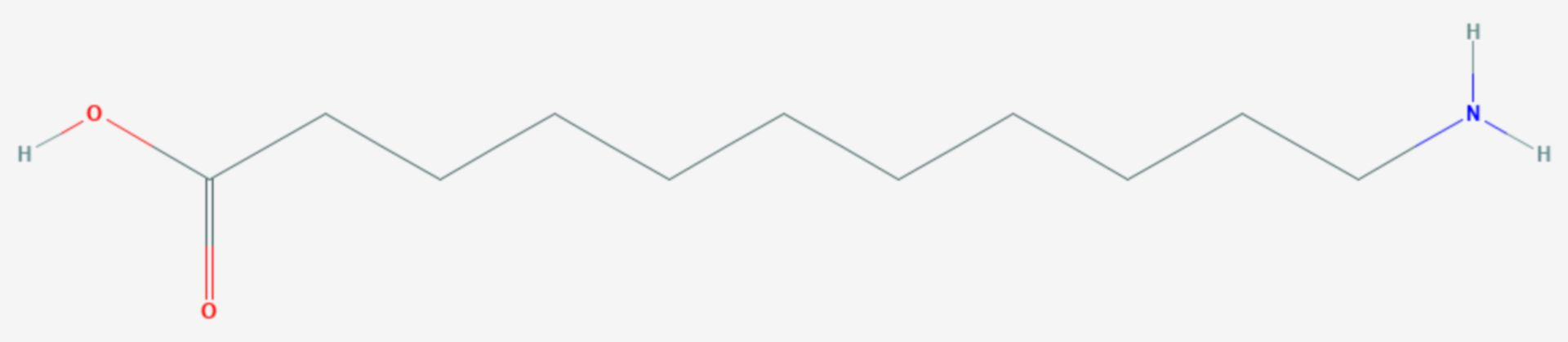 11-Aminoundecansäure (Strukturformel)