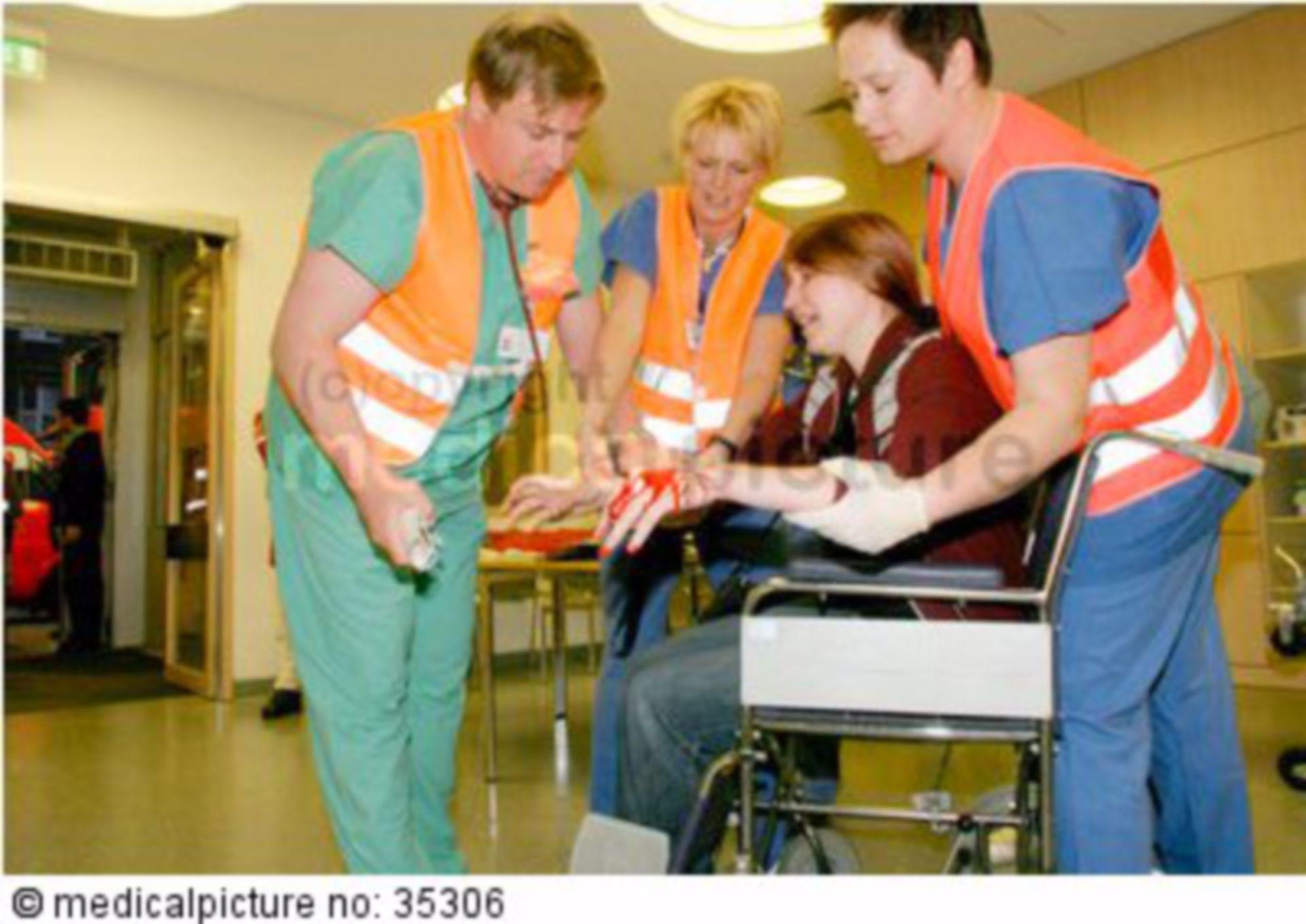 Katastrophenalarm-Übung