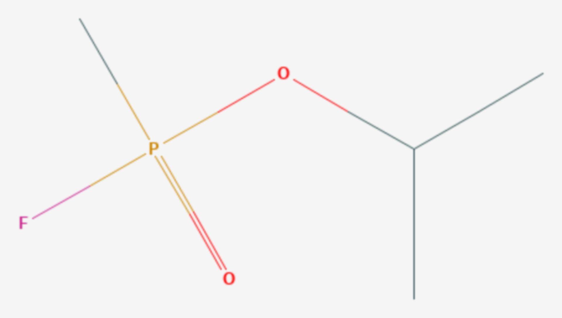 Sarin (Strukturformel)