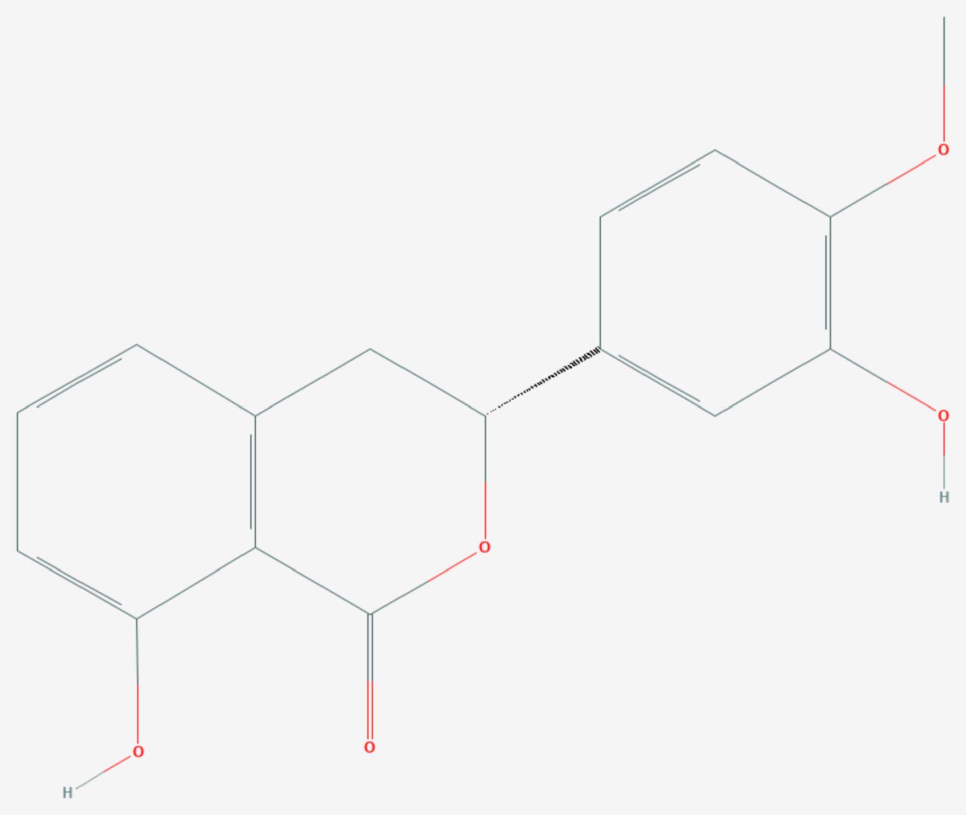 Phyllodulcin (Strukturformel)