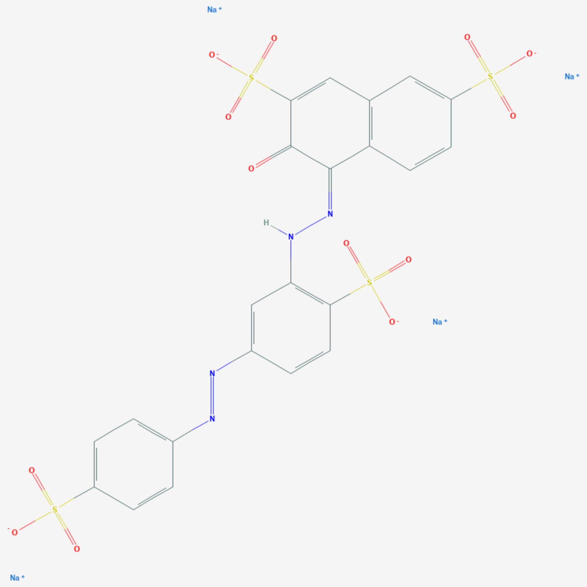 Ponceau S (Strukturformel)