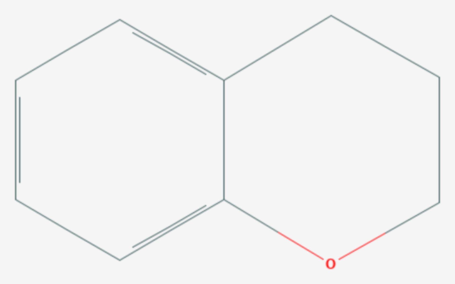 Chroman (Strukturformel)