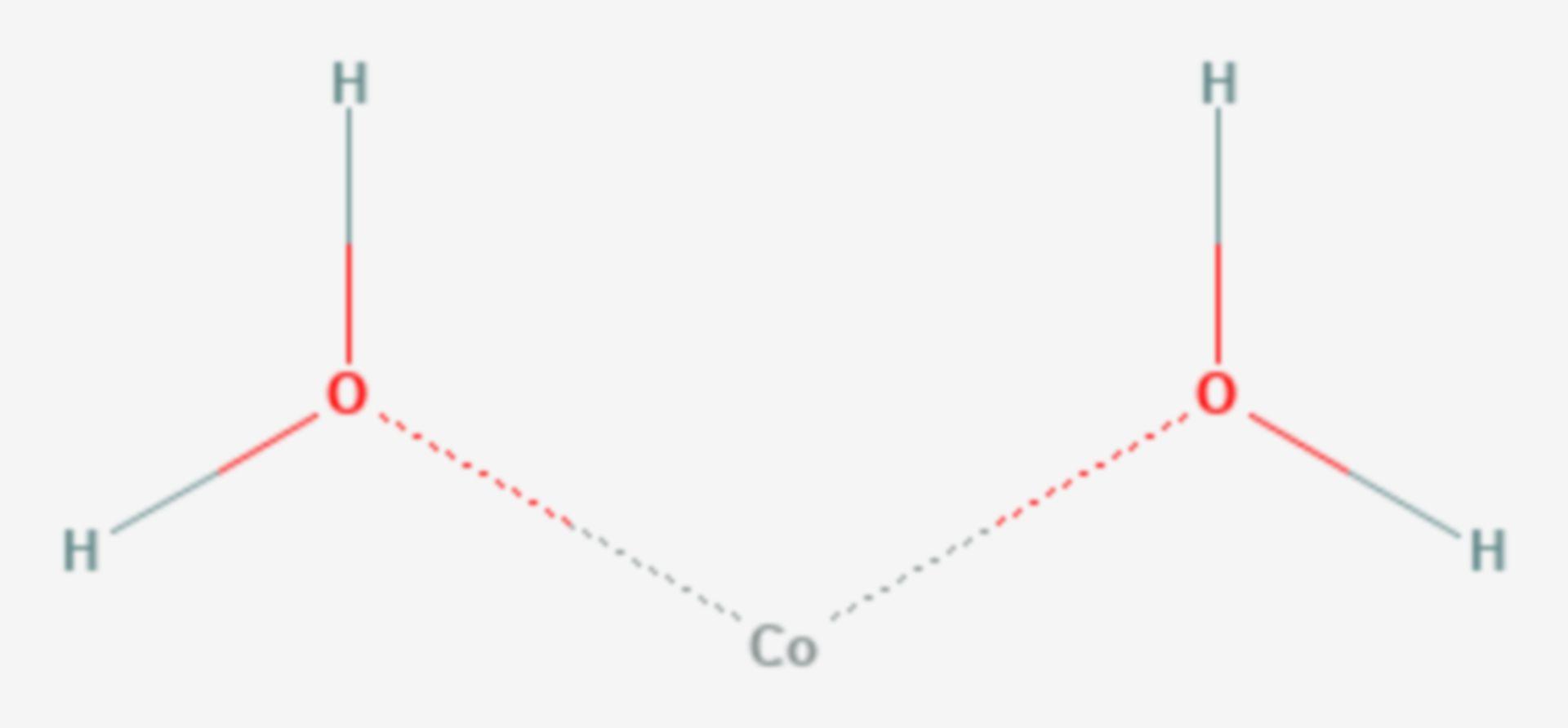 Cobalt(II)-hydroxid (Strukturformel)