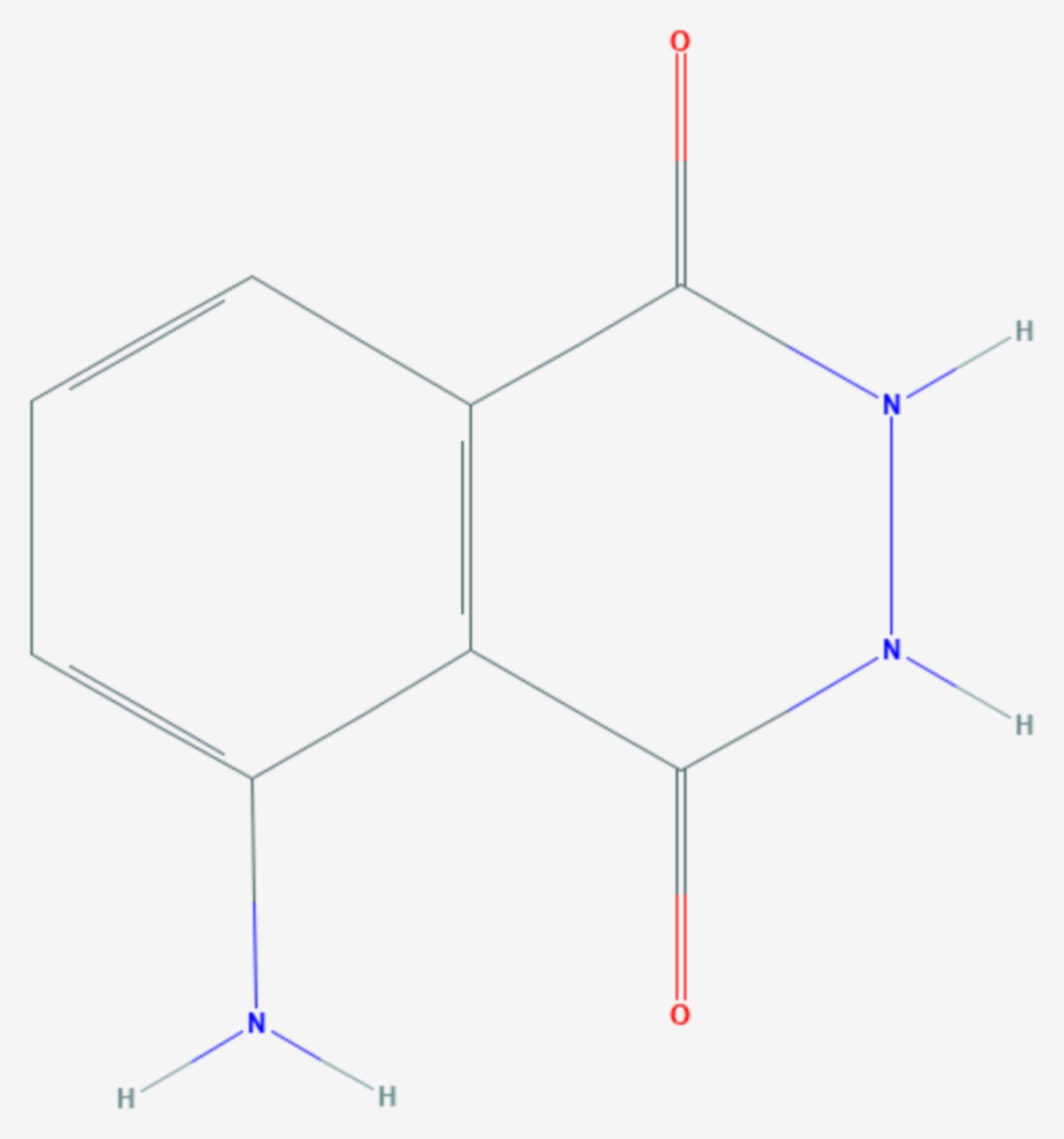 Luminol (Strukturformel)