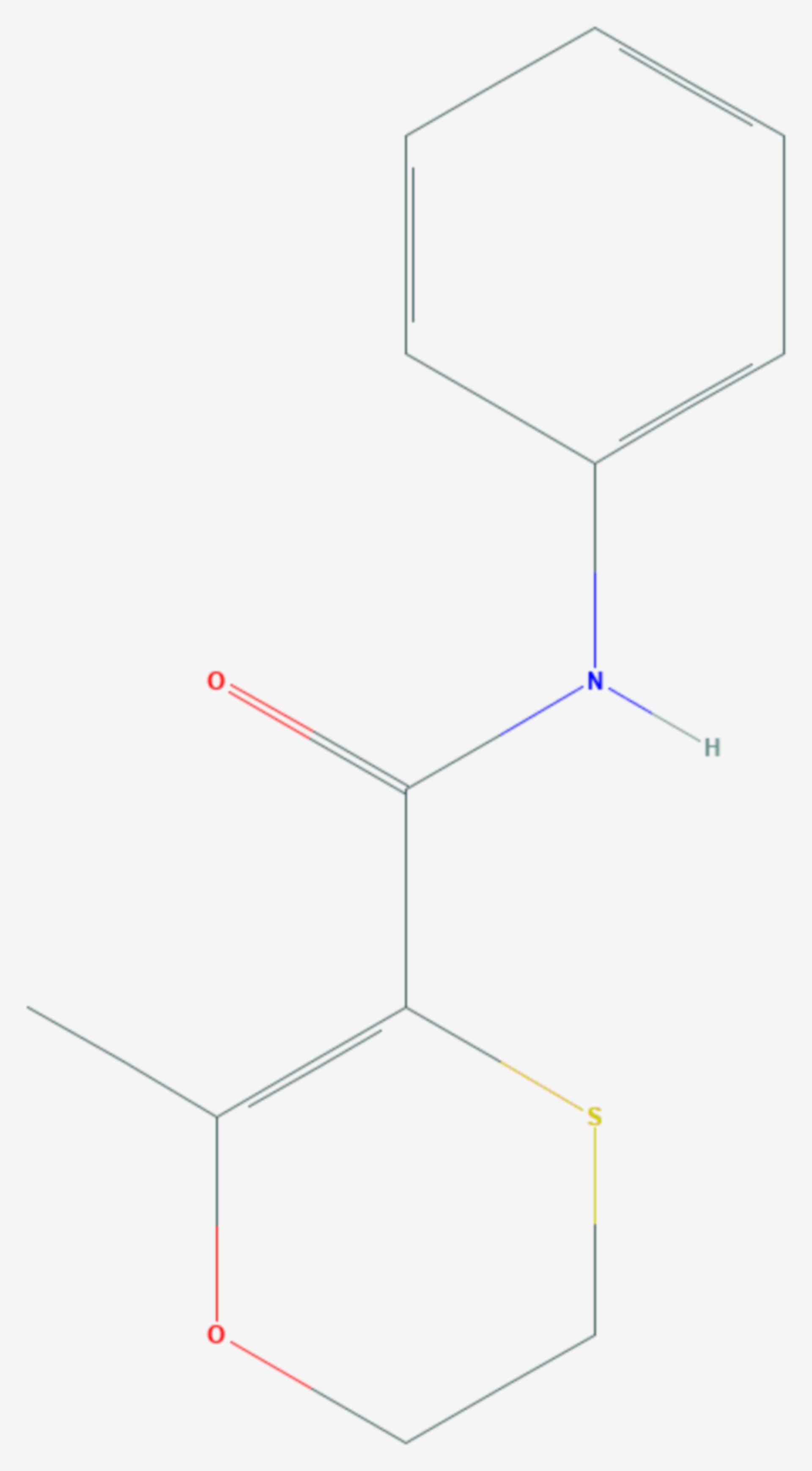Carboxin (Strukturformel)