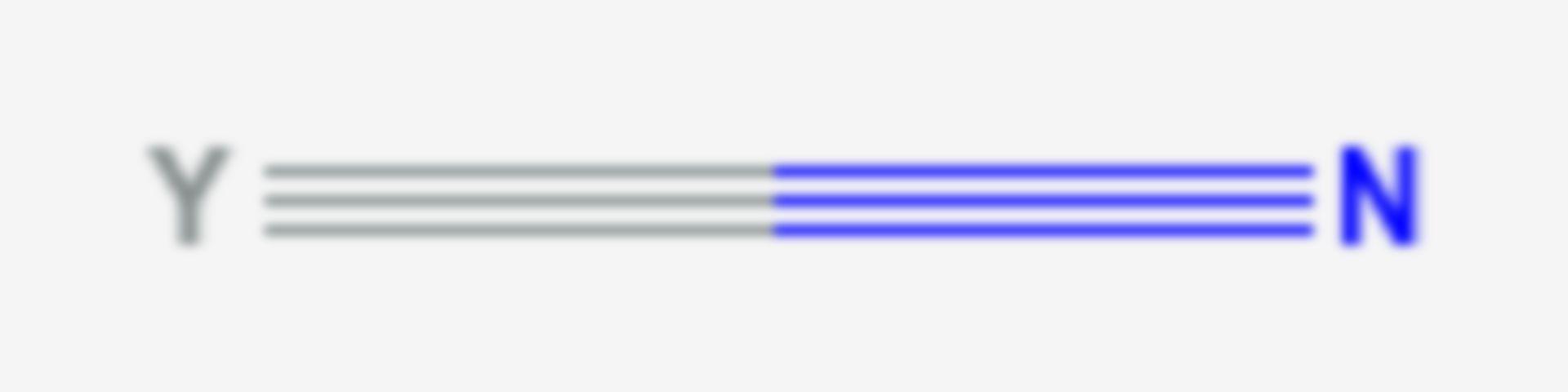 Yttriumnitrid (Strukturformel)