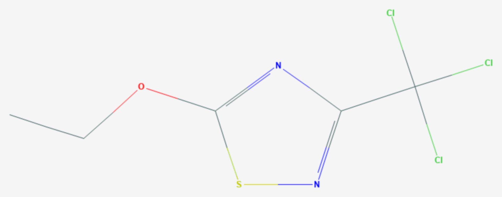 Etridiazol (Strukturformel)