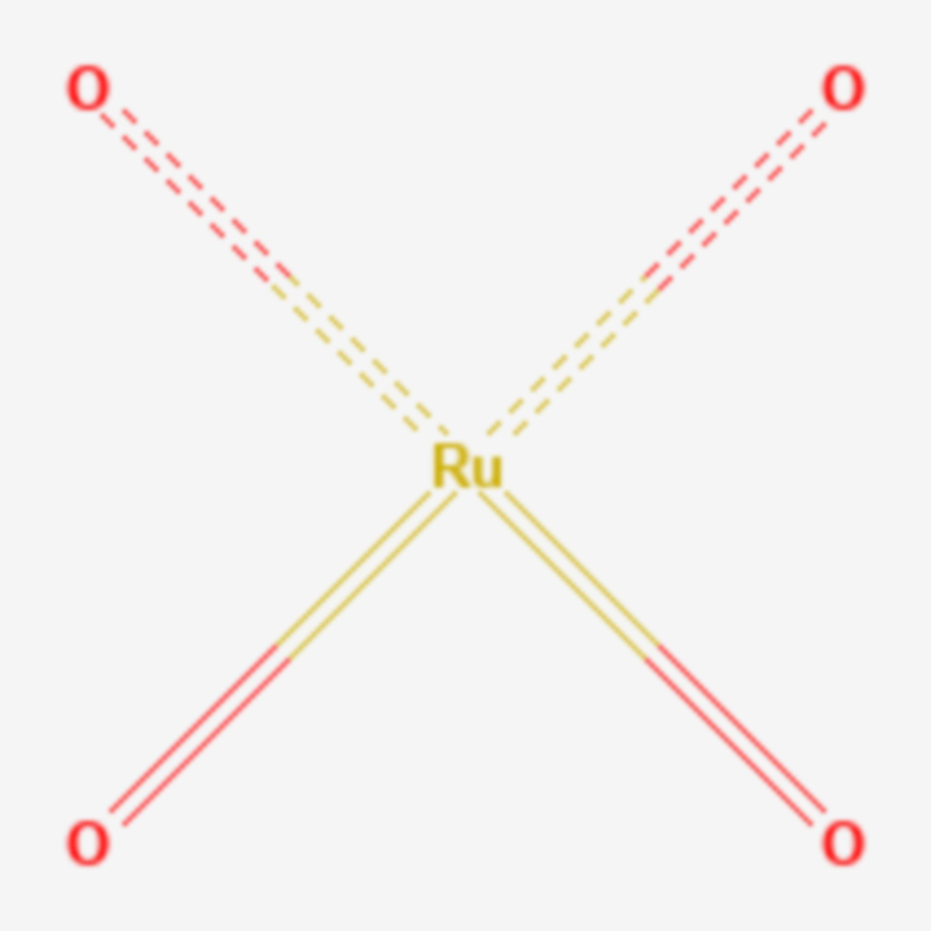 Ruthenium(VIII)-oxid (Strukturformel)