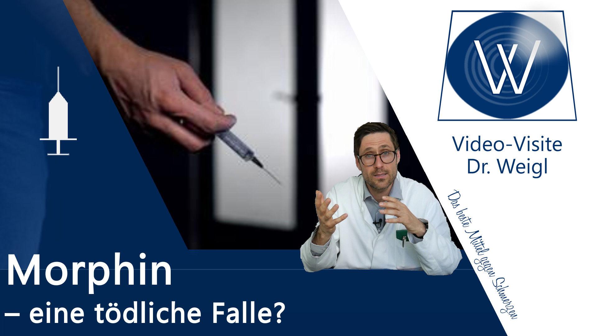 """Morphin – Die """"Messlatte"""" in der Schmerzmedizin mit Opiaten"""