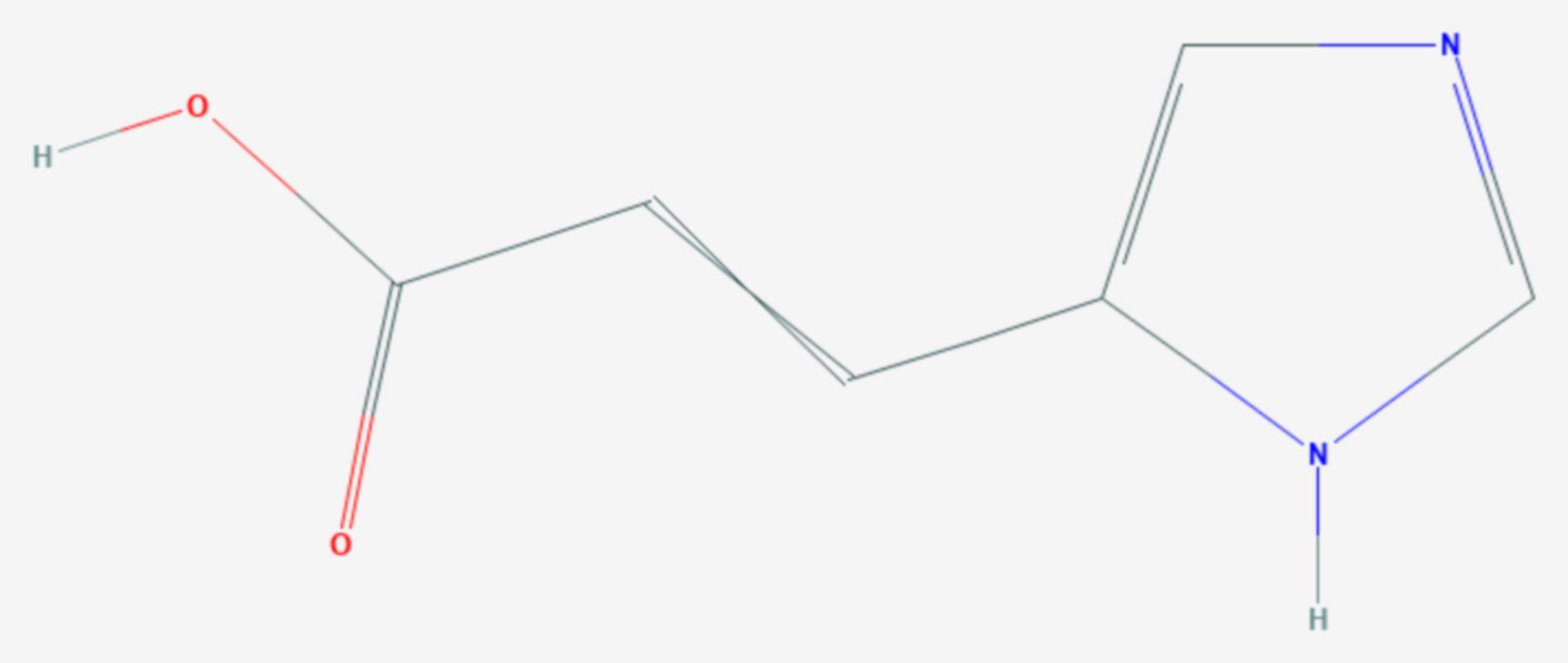 Urocaninsäure (Strukturformel)