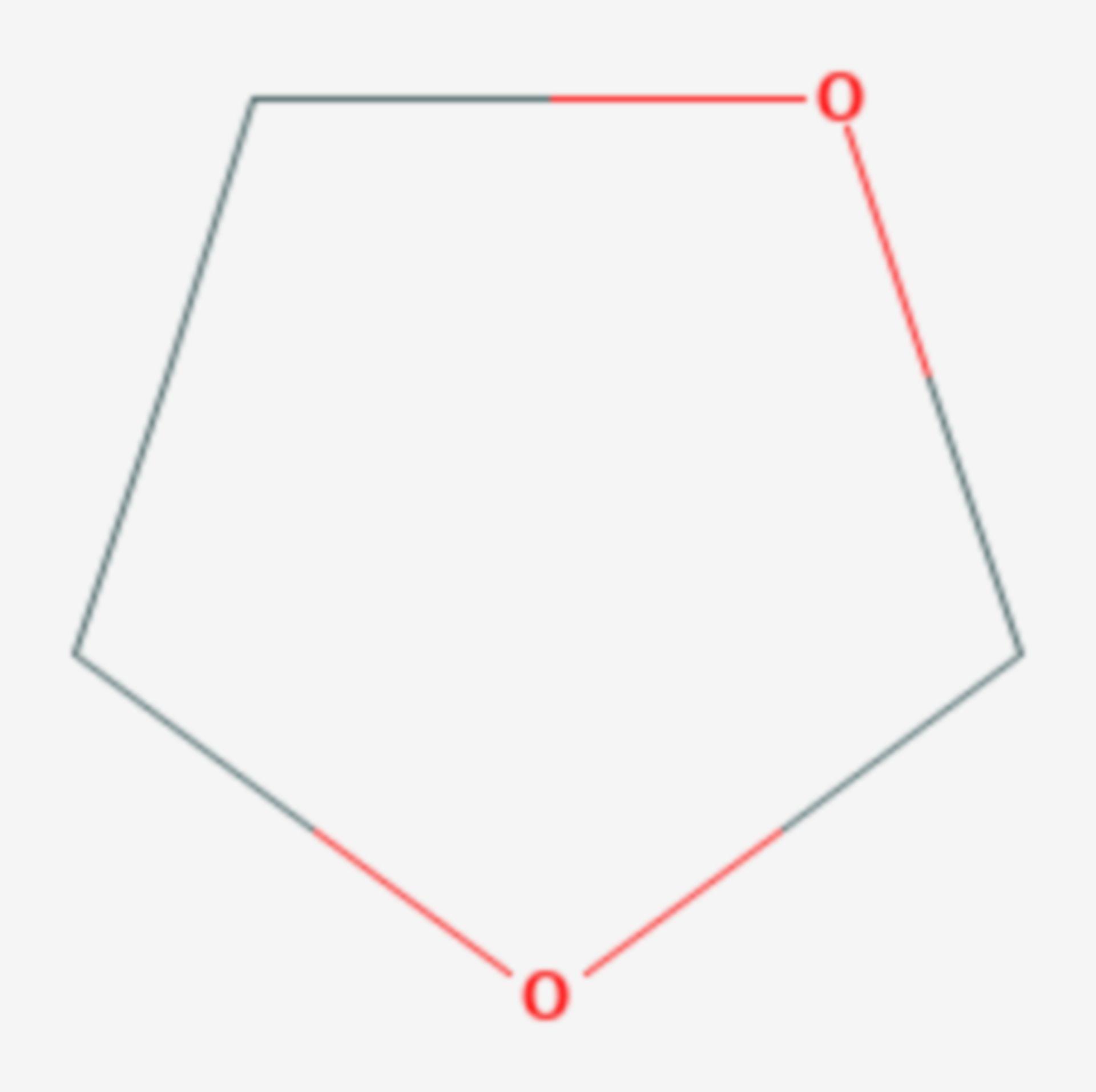 1,3-Dioxolan (Strukturformel)