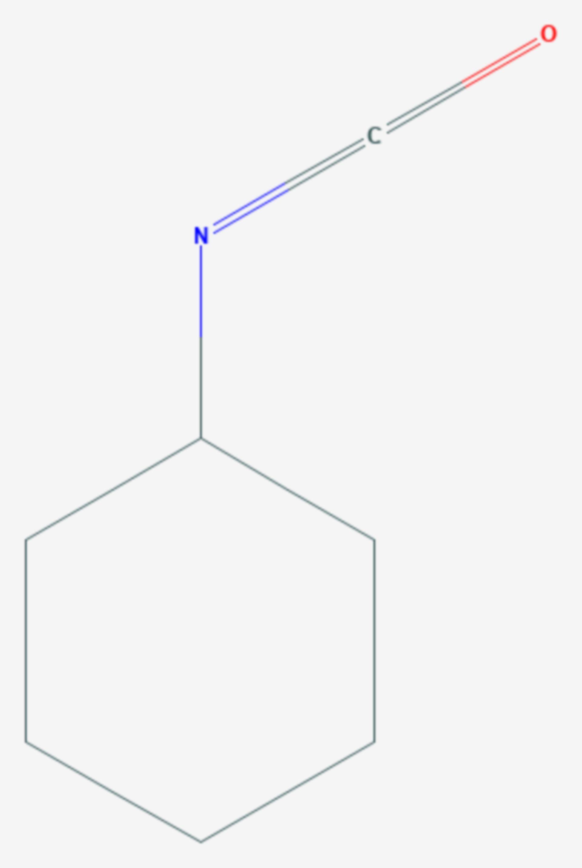Cyclohexylisocyanat (Strukturformel)