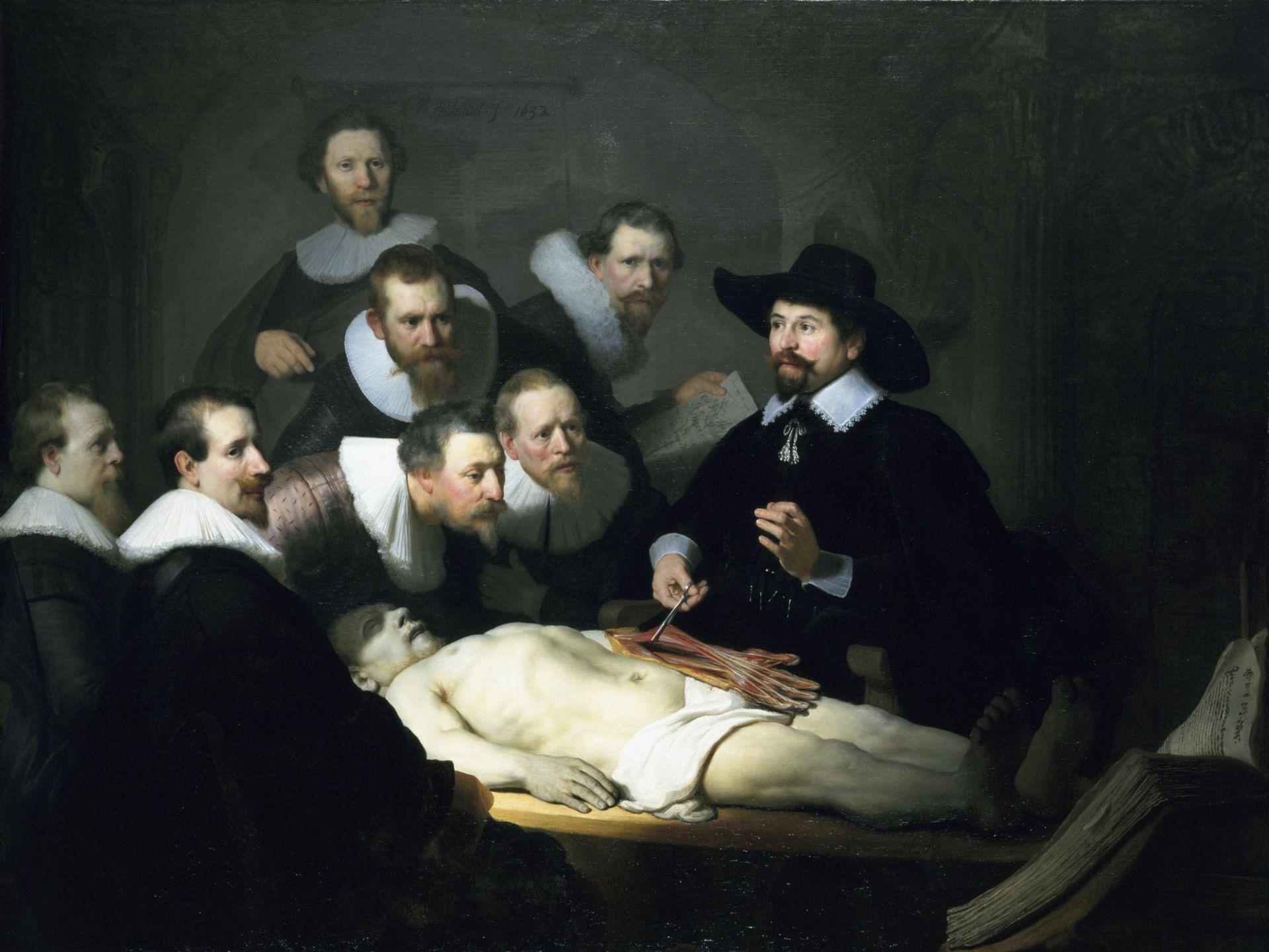 Die Anatomie des Dr. Tulp (Rembrandt, 1632)