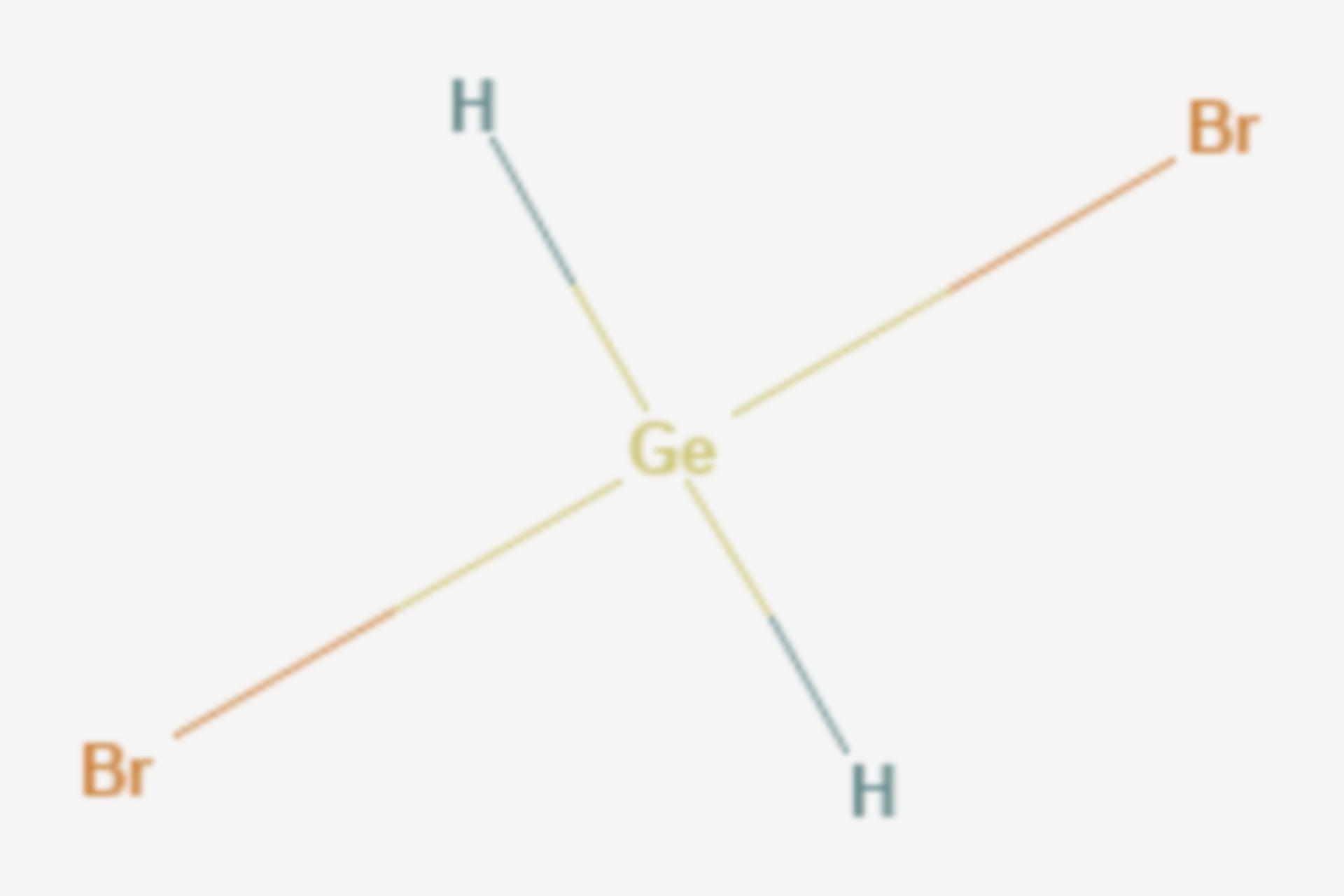 Dibromgerman (Strukturformel)