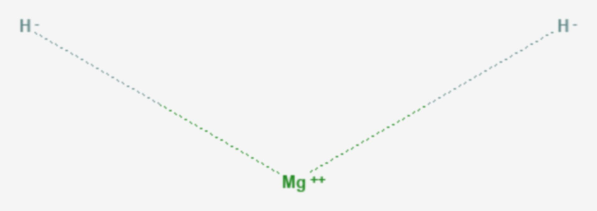 Magnesiumhydrid (Strukturformel)