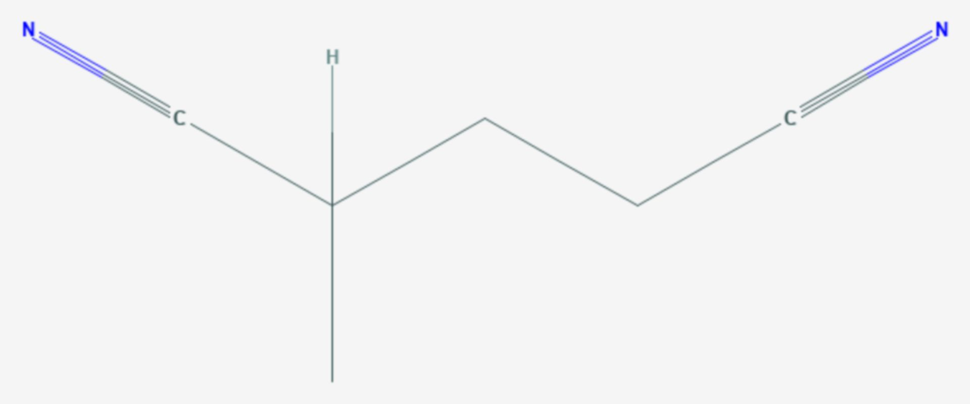 2-Methylglutaronitril (Strukturformel)
