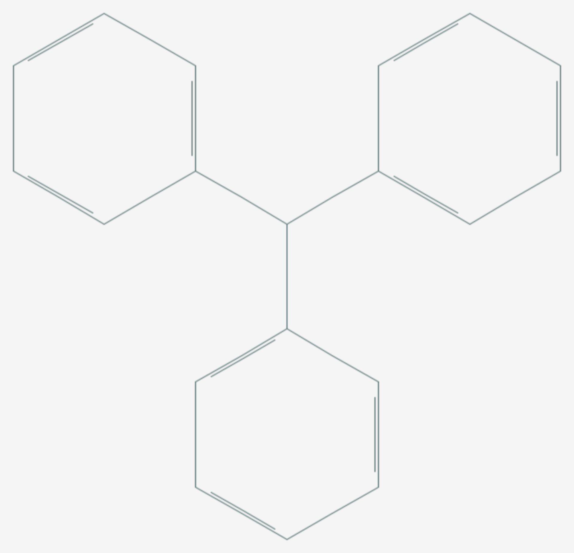 Triphenylmethan (Strukturformel)