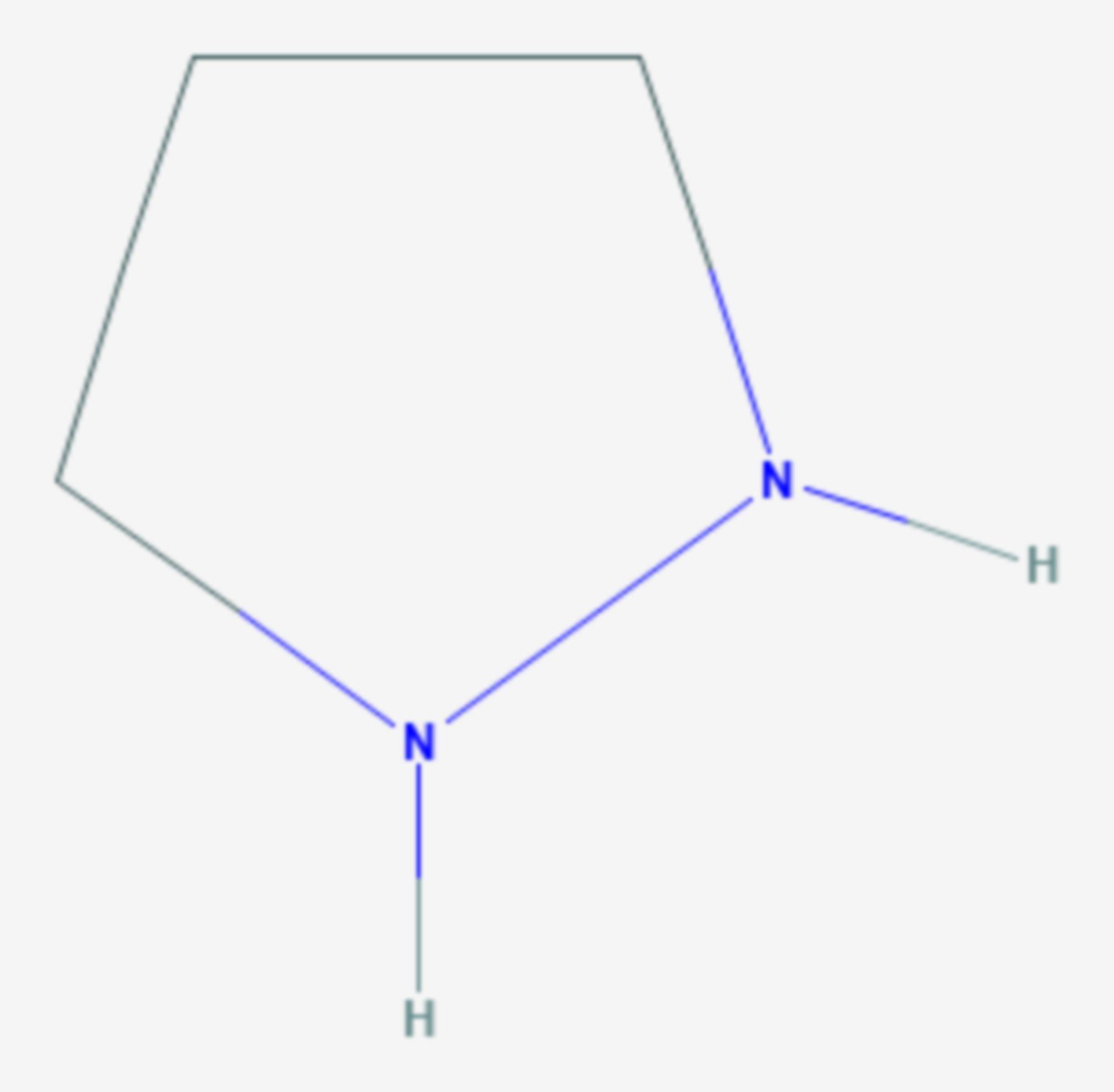 Pyrazolidin (Strukturformel)