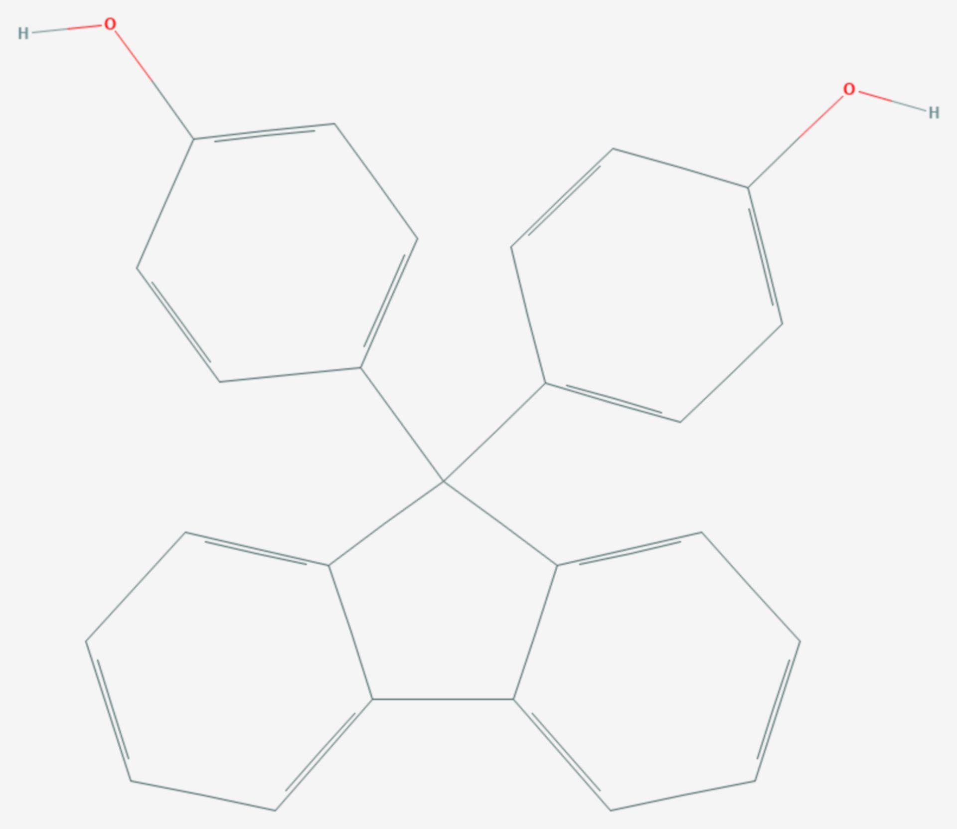 Bisphenol FL (Strukturformel)