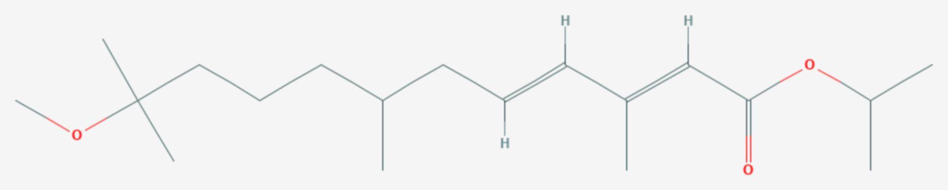 Methopren (Strukturformel)