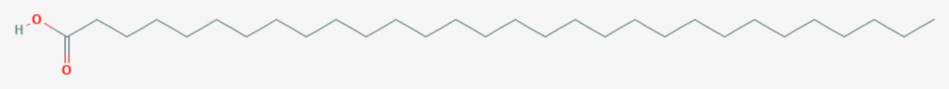 Melissinsäure (Strukturformel)
